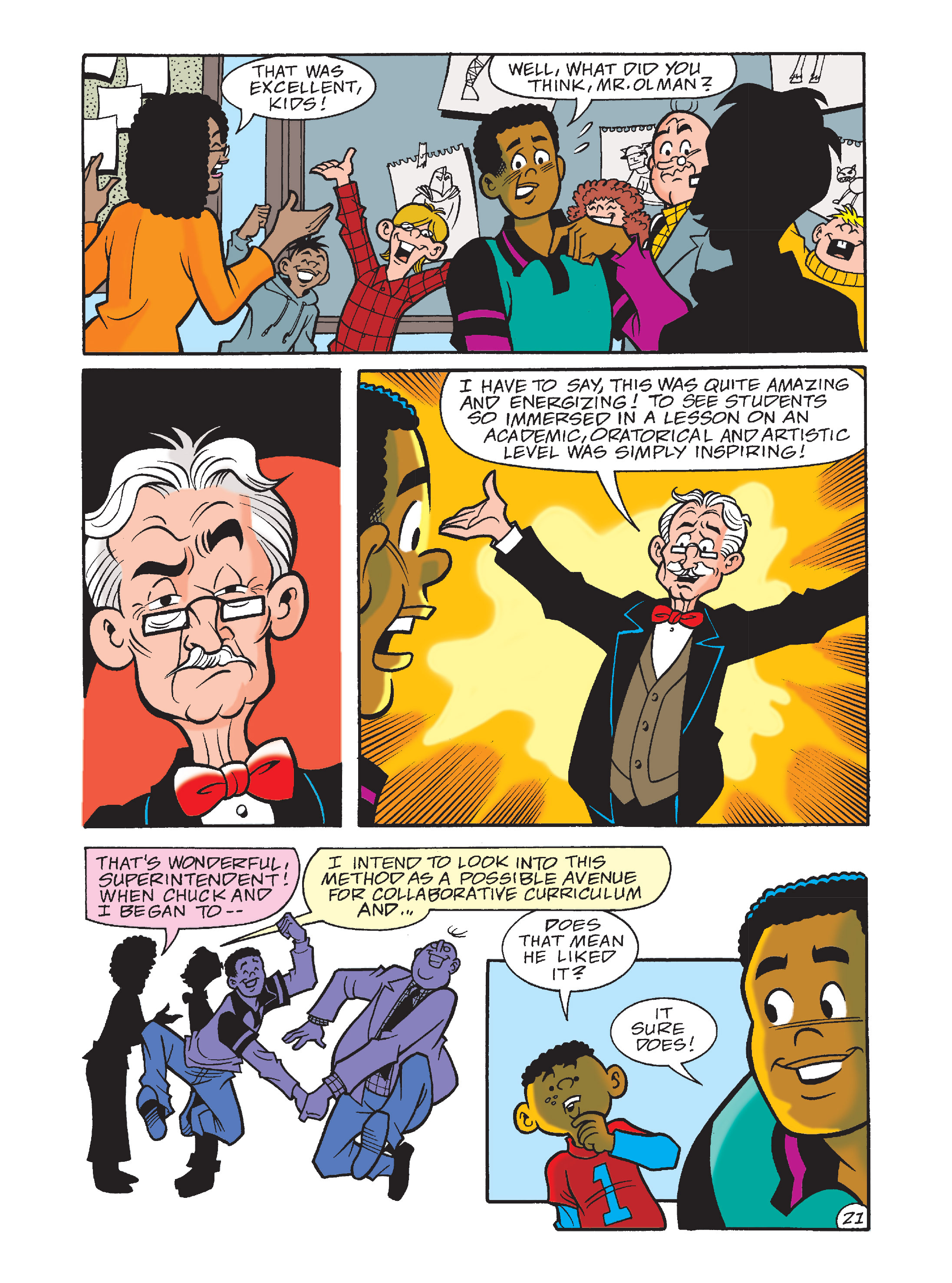 Read online Archie's Funhouse Double Digest comic -  Issue #10 - 56