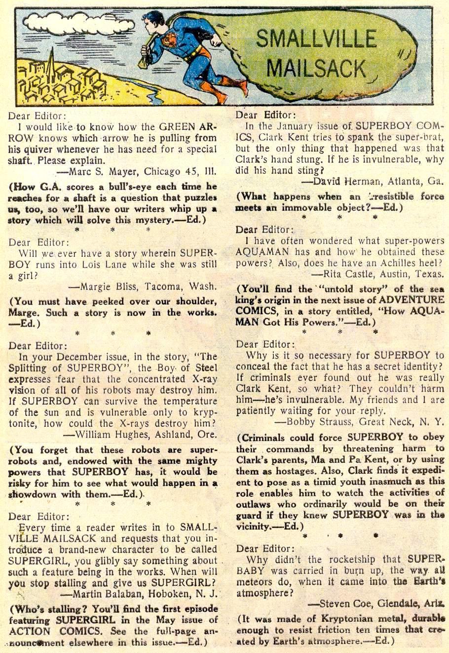 Read online Adventure Comics (1938) comic -  Issue #259 - 25