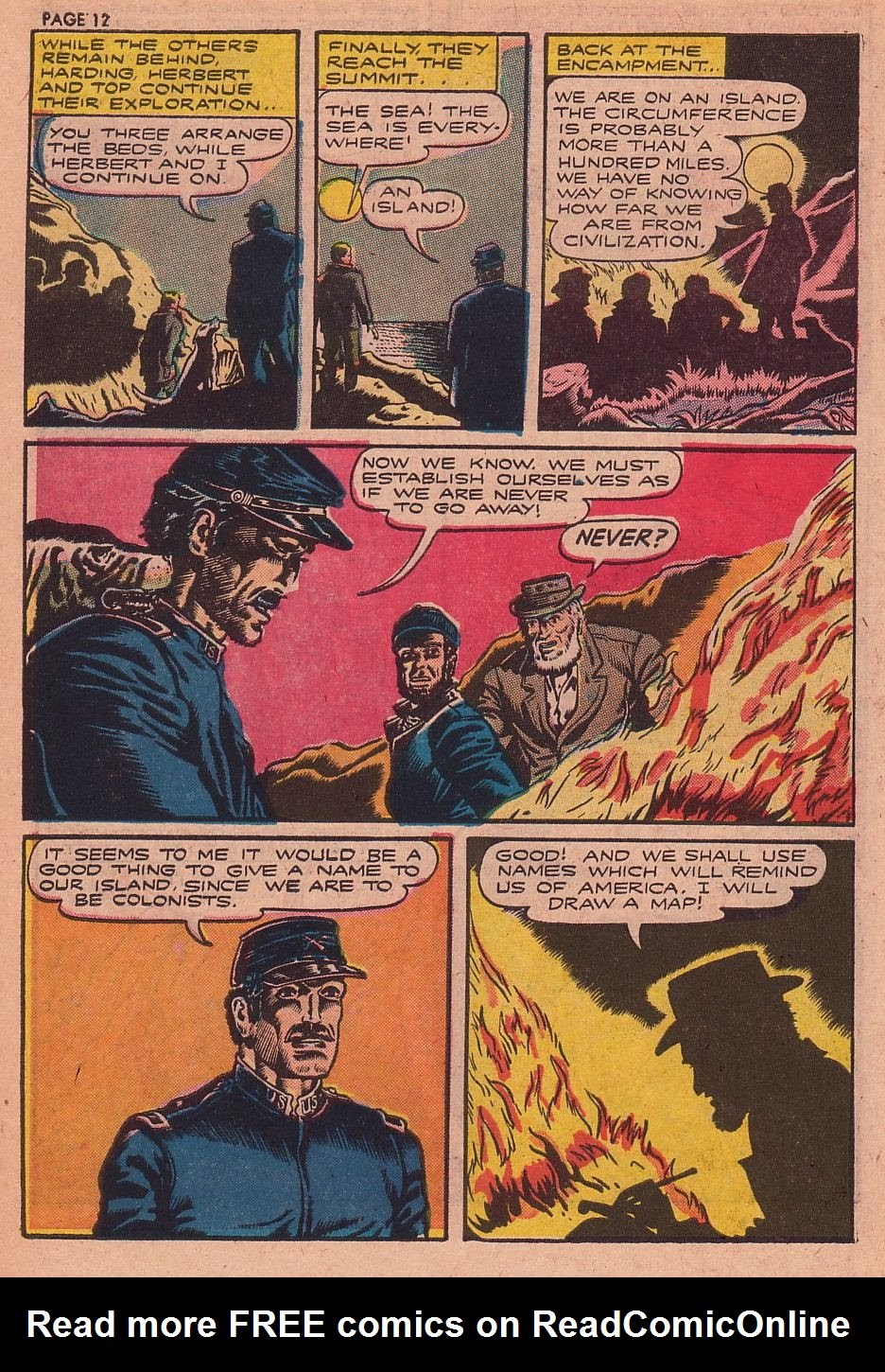 Classics Illustrated issue 34 - Page 12
