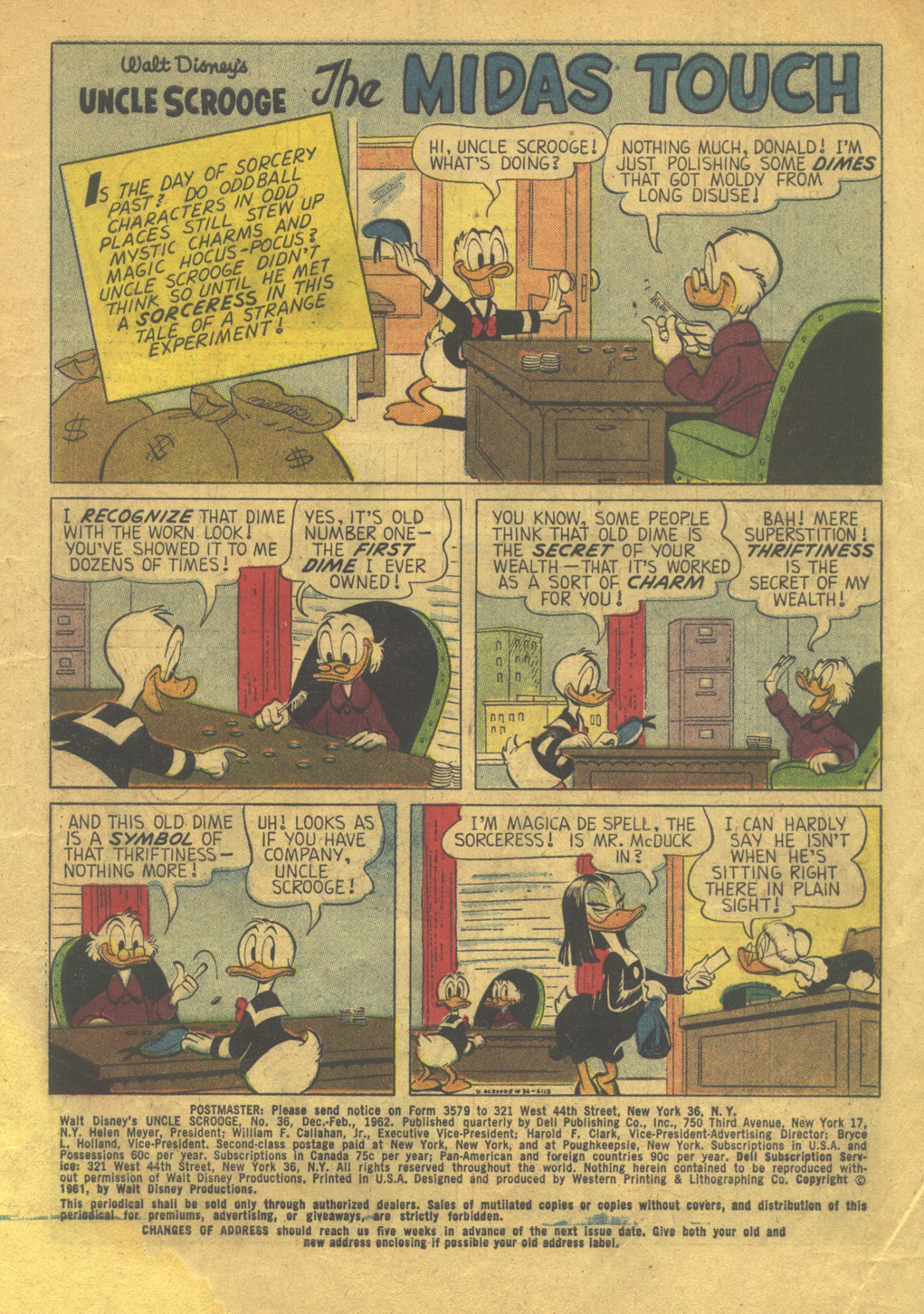 Read online Uncle Scrooge (1953) comic -  Issue #36 - 3