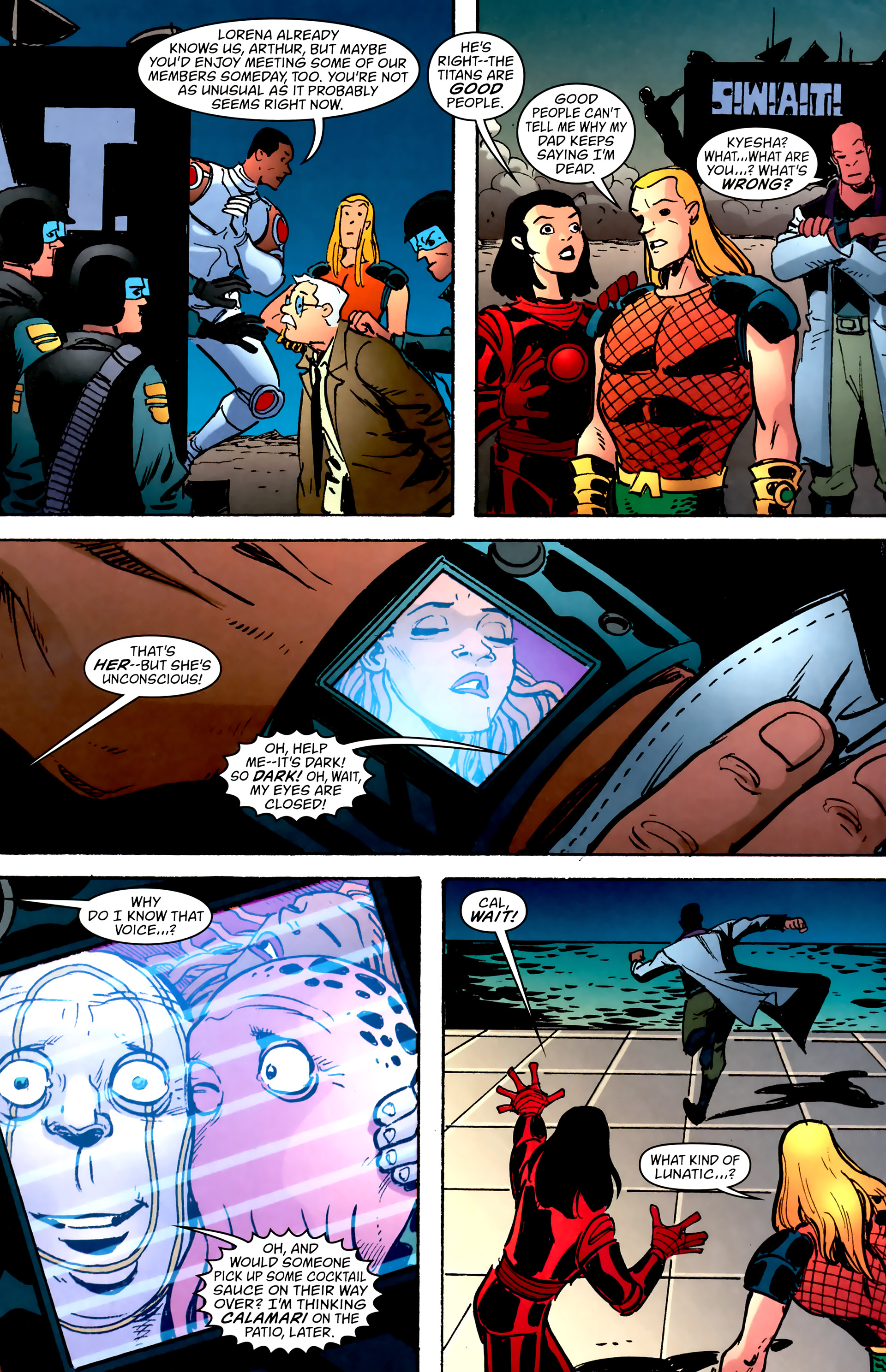 Read online Aquaman: Sword of Atlantis comic -  Issue #57 - 5