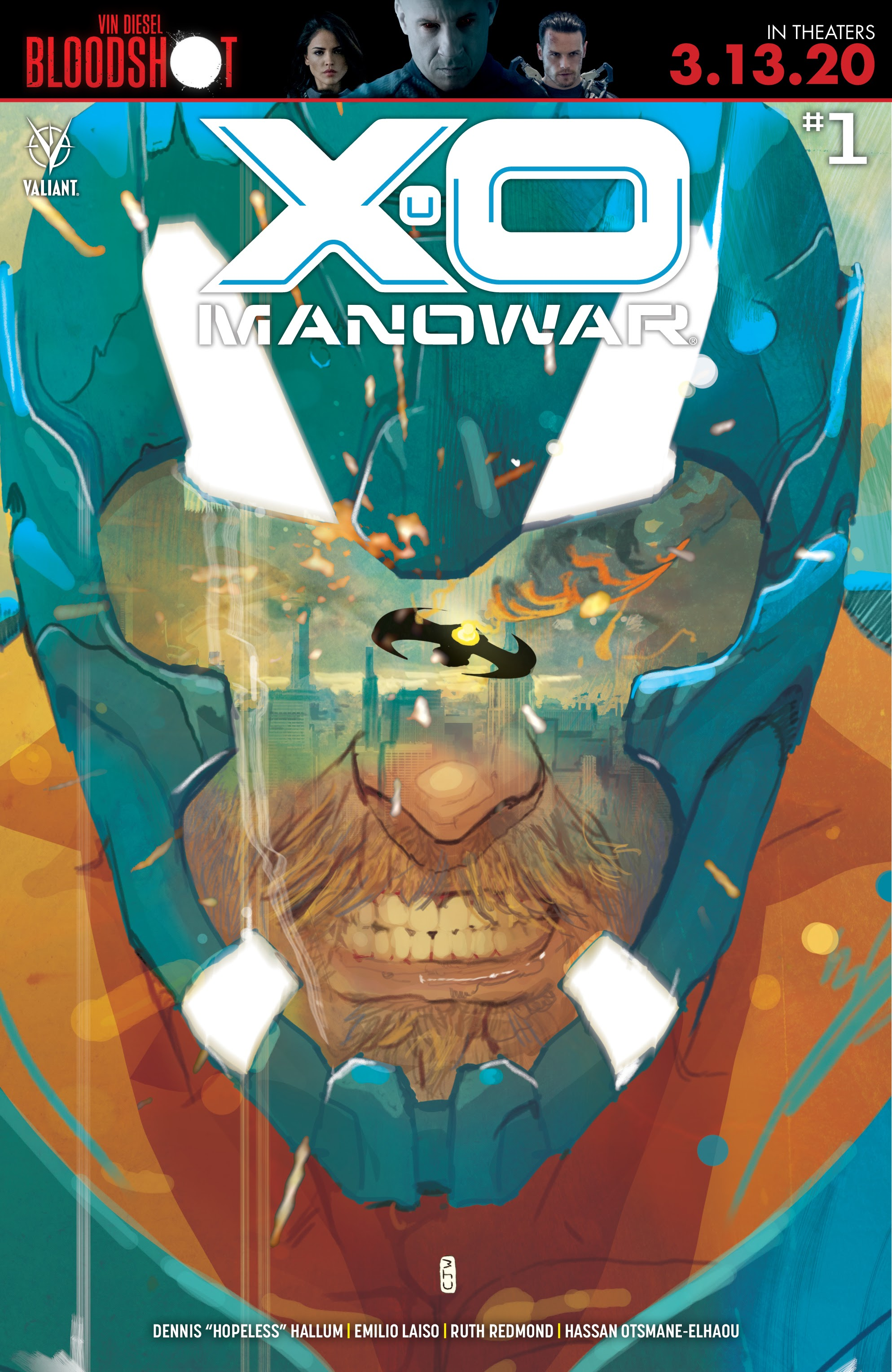 X-O Manowar (2020) issue 1 - Page 1