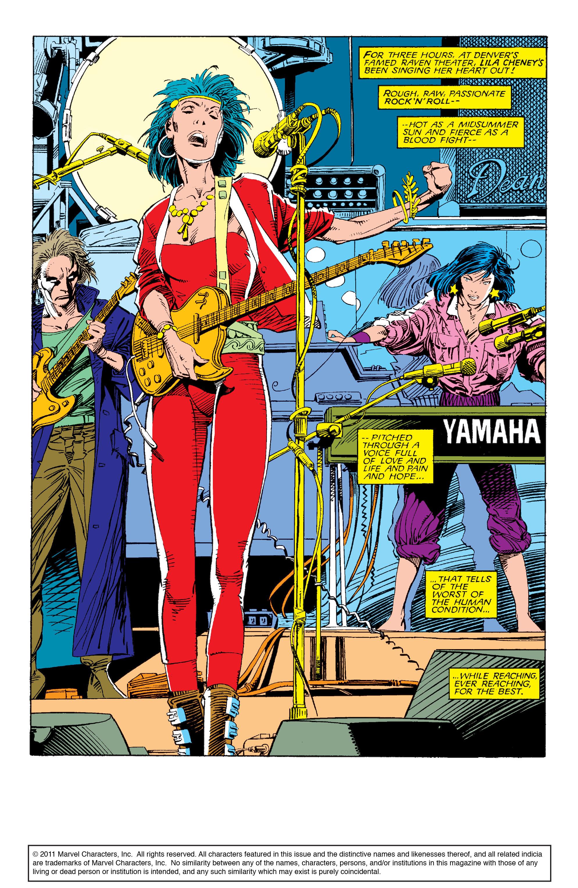 Read online Uncanny X-Men (1963) comic -  Issue #214 - 2