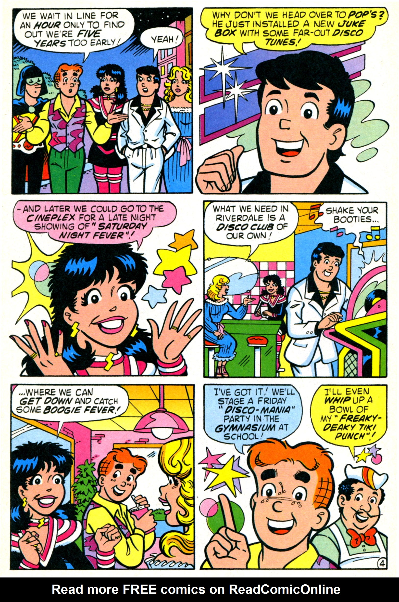 Read online World of Archie comic -  Issue #21 - 31
