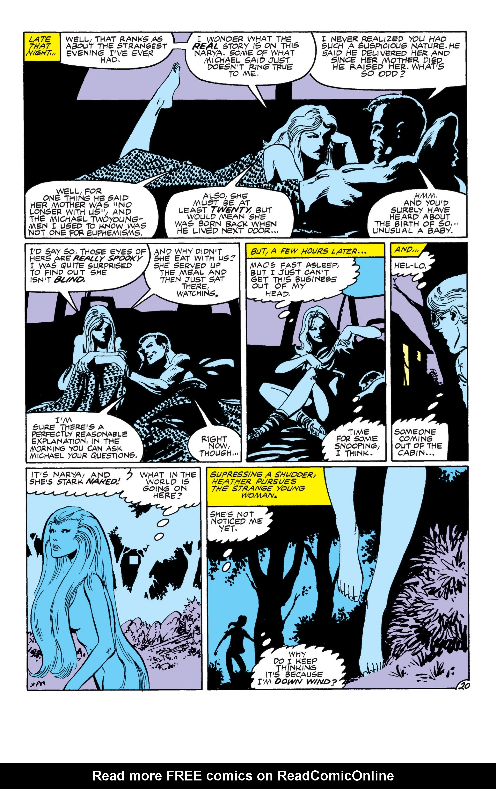 Read online Alpha Flight (1983) comic -  Issue #8 - 21