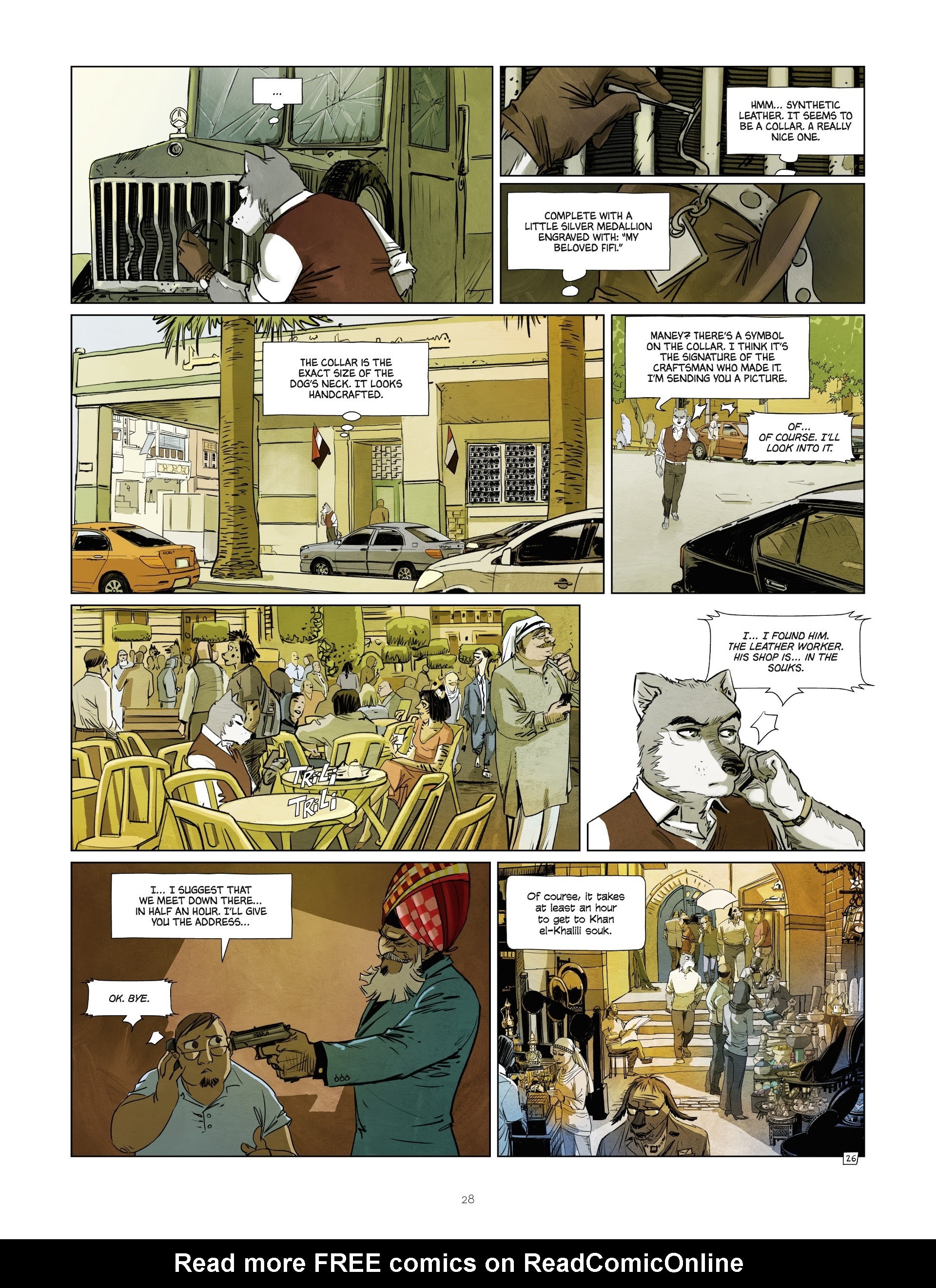 Read online Jack Wolfgang comic -  Issue #3 - 30