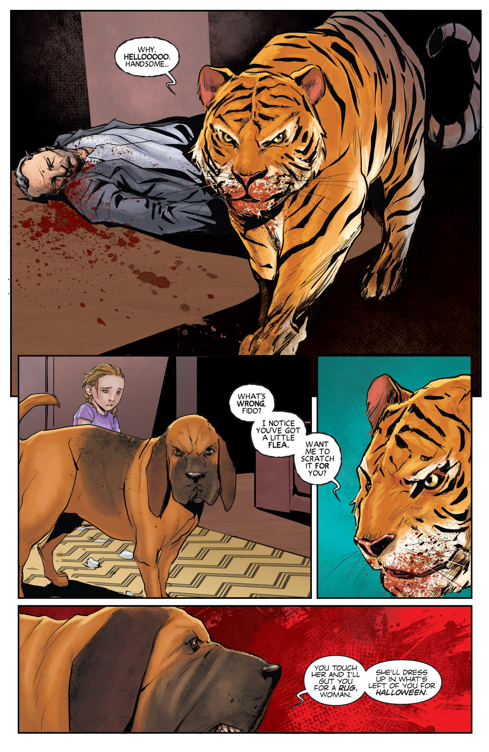 Read online Animosity comic -  Issue #1 - 15