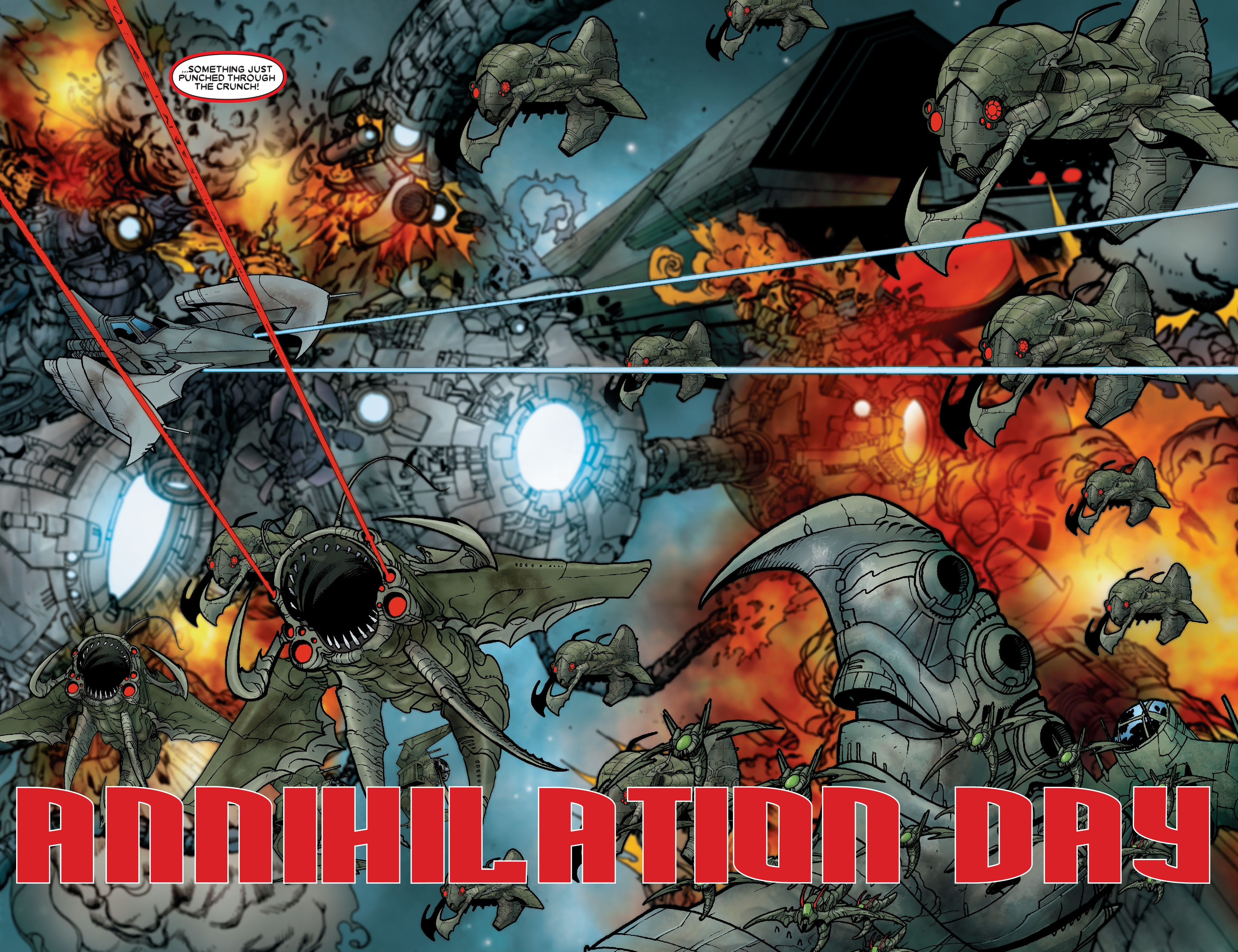 Read online Annihilation: Prologue comic -  Issue #Annihilation: Prologue Full - 5
