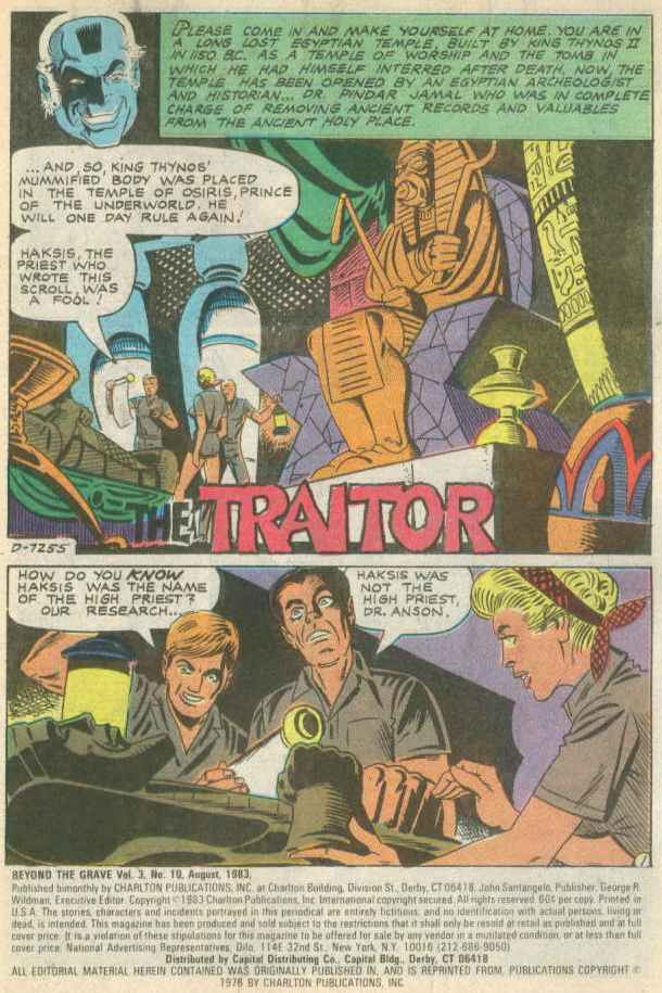 Read online Beyond the Grave (1983) comic -  Issue #10 - 2