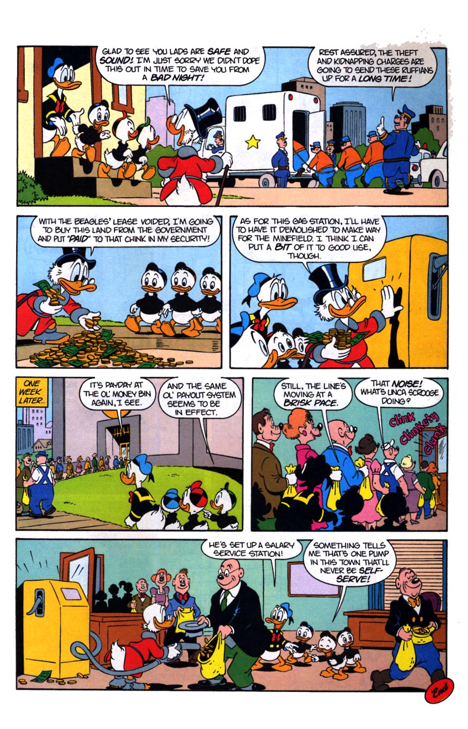 Read online Uncle Scrooge (1953) comic -  Issue #254 - 26