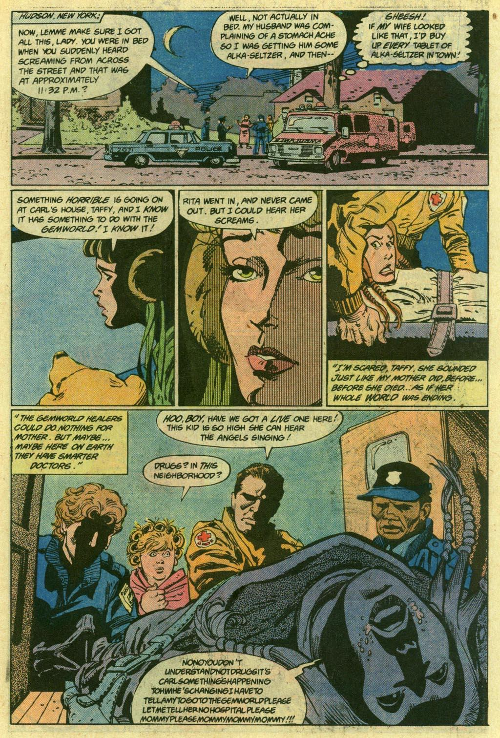 Amethyst 1985 Issue 15 | Viewcomic reading comics online for