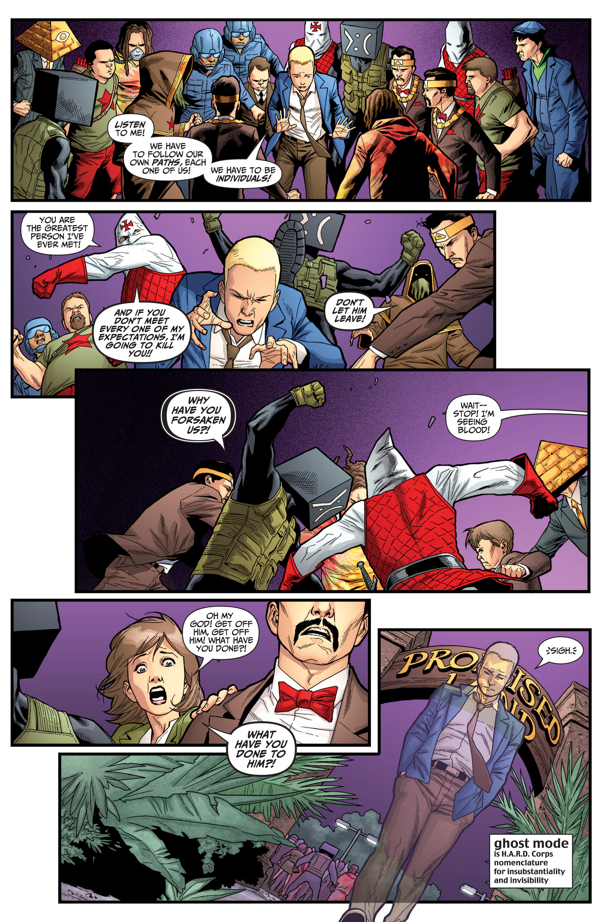 Read online Archer and Armstrong comic -  Issue #Archer and Armstrong _TPB 6 - 99
