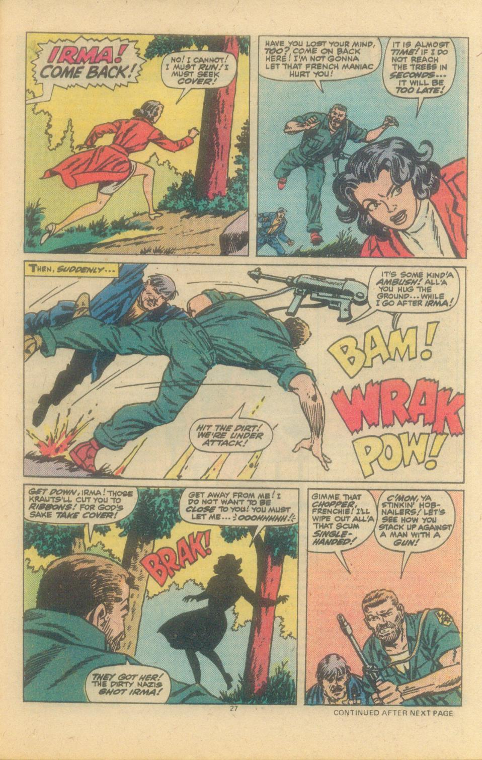 Read online Sgt. Fury comic -  Issue #150 - 29