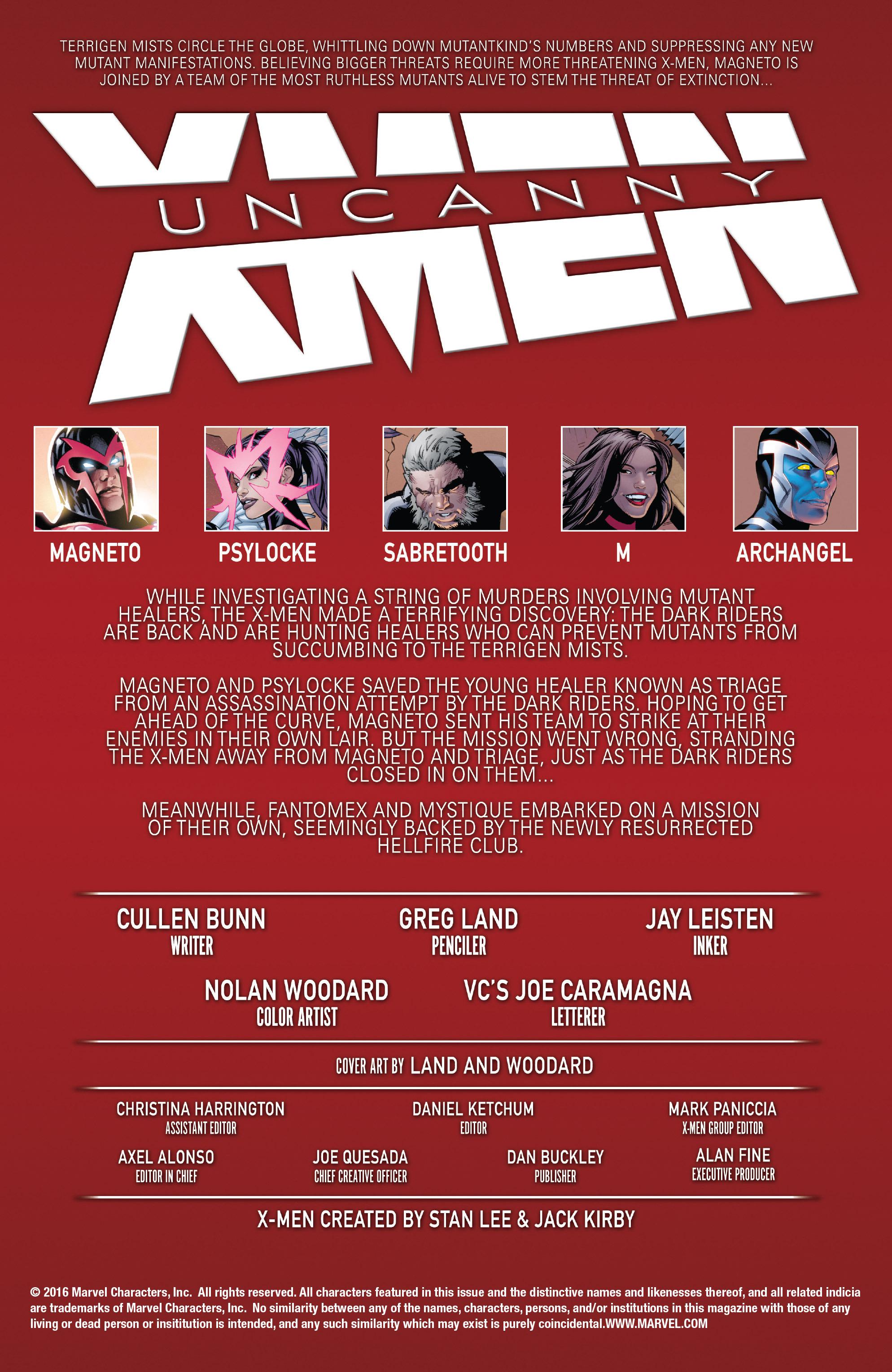Read online Uncanny X-Men (2016) comic -  Issue #5 - 2