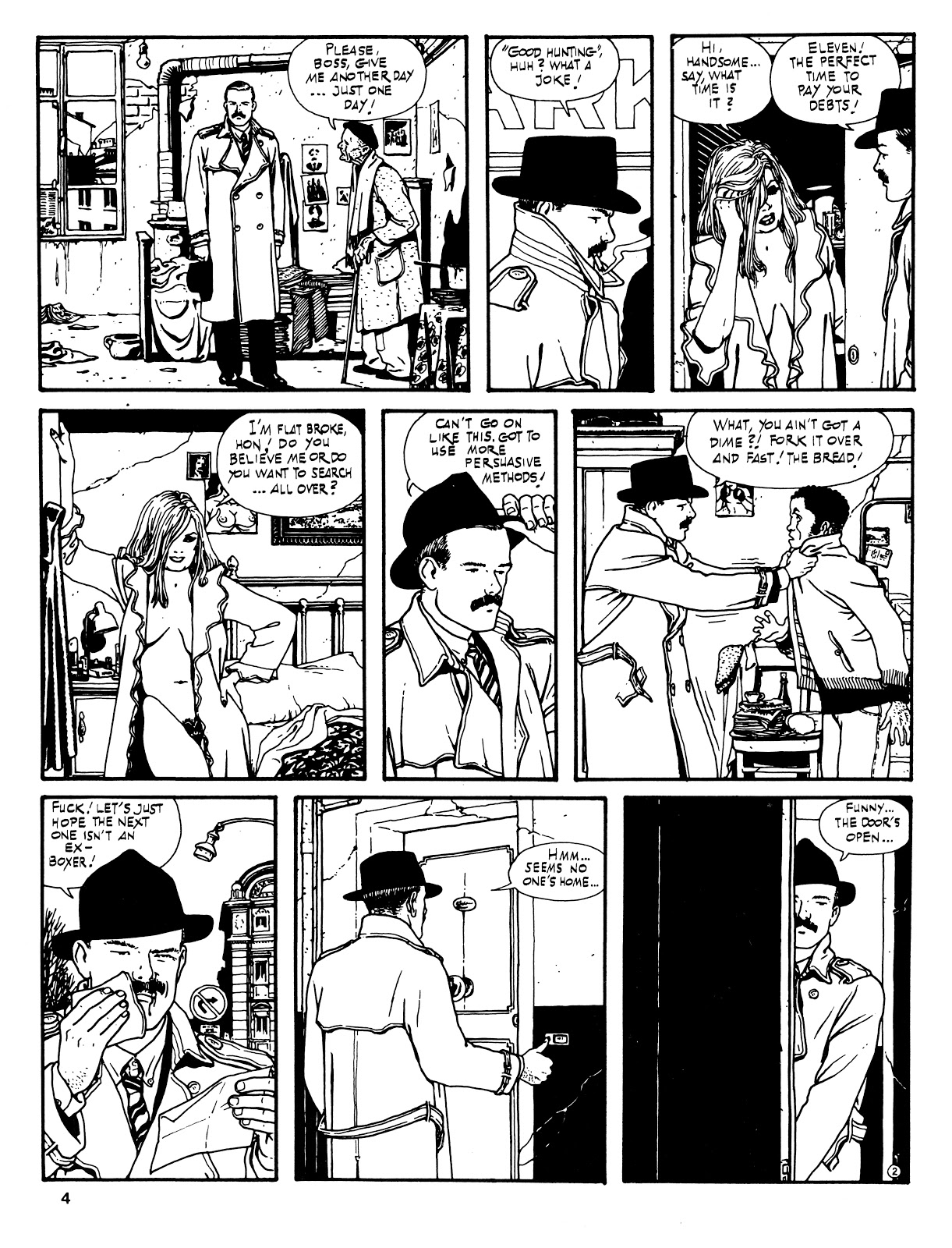 Read online Cases from the Files of Sam Pezzo, P.I. comic -  Issue # Full - 5