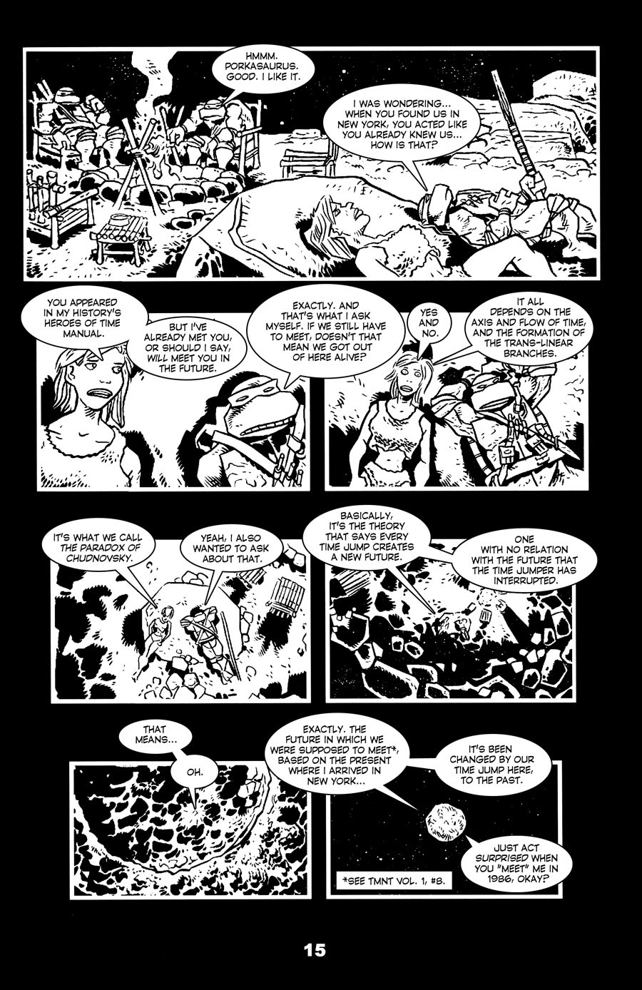 Read online Tales of the TMNT comic -  Issue #71 - 19