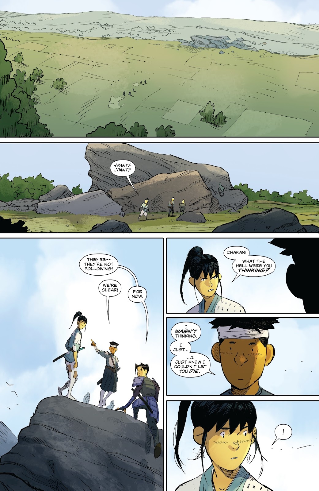 Read online Ronin Island comic -  Issue #8 - 8