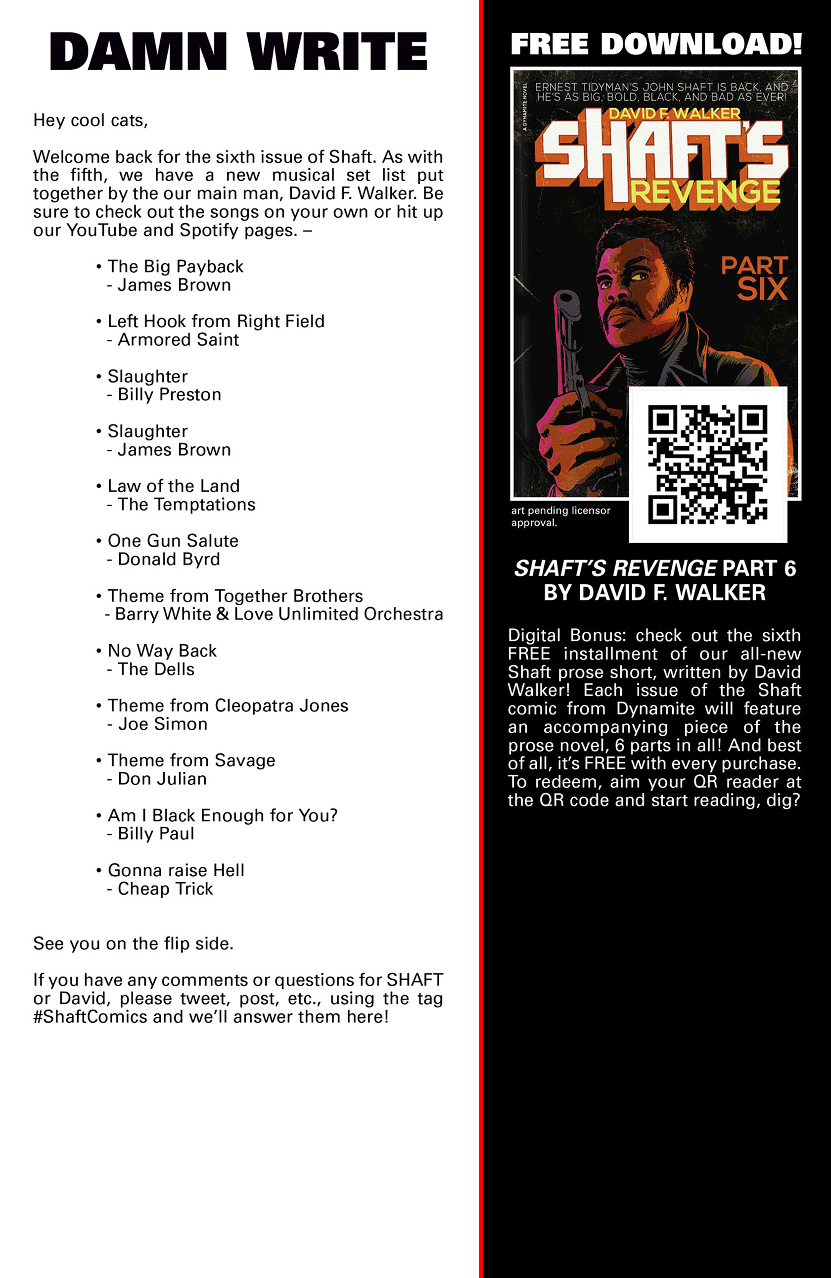 Read online Shaft comic -  Issue #6 - 24