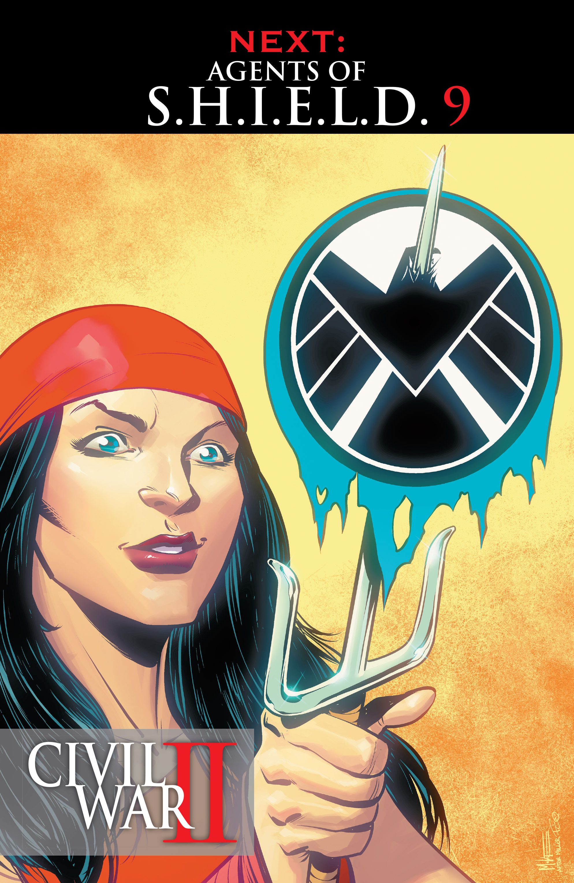 Read online Agents of S.H.I.E.L.D. comic -  Issue #8 - 21
