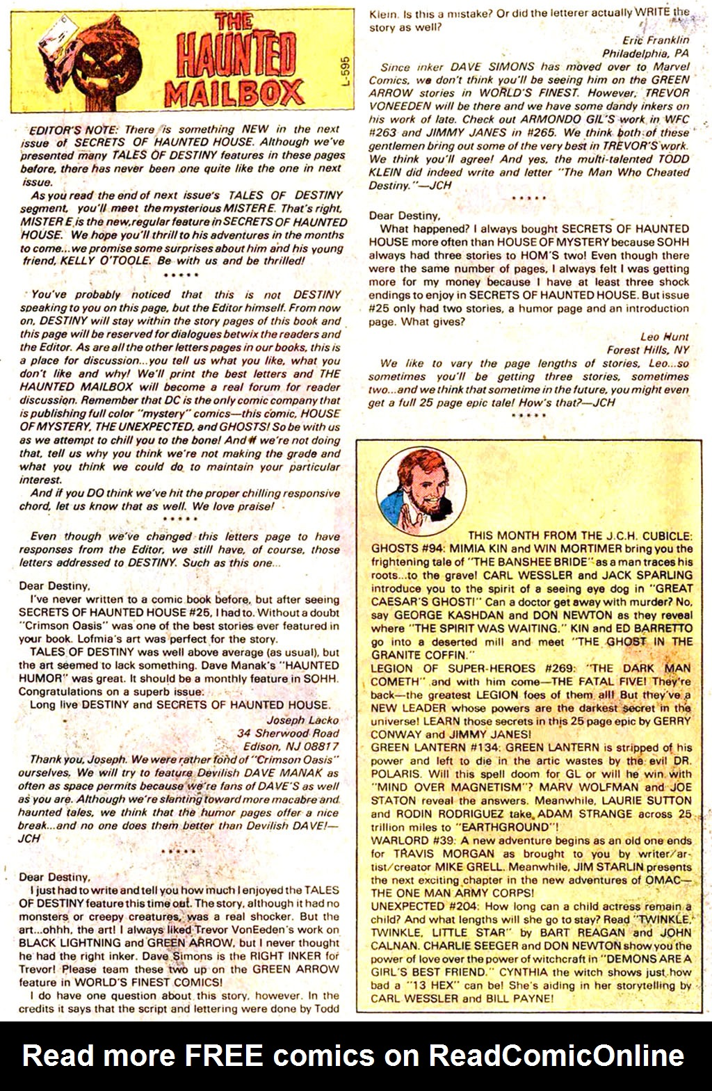 Read online Secrets of Haunted House comic -  Issue #30 - 14