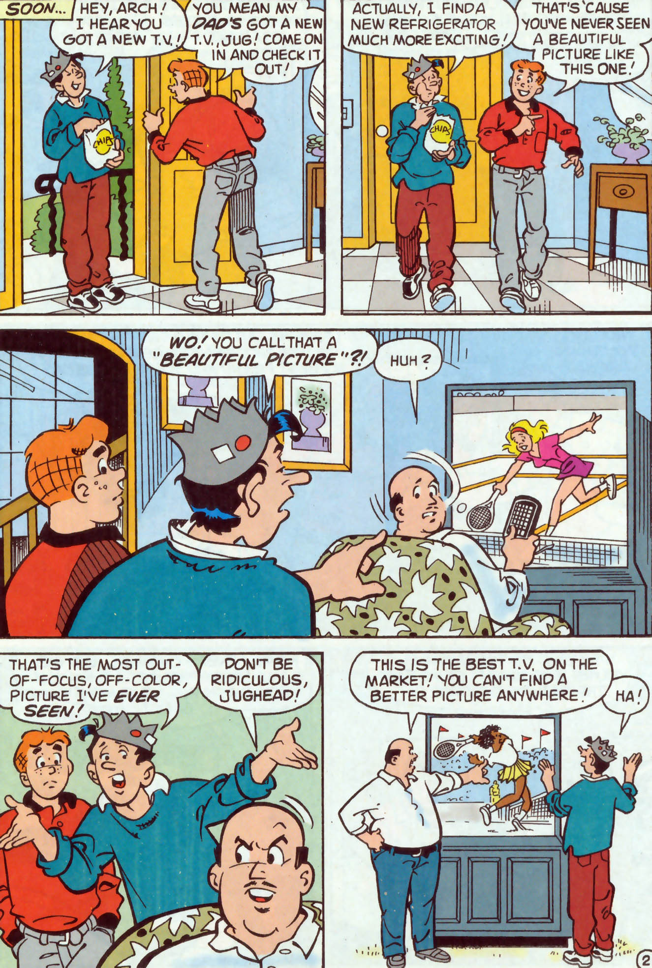 Read online Archie (1960) comic -  Issue #477 - 10