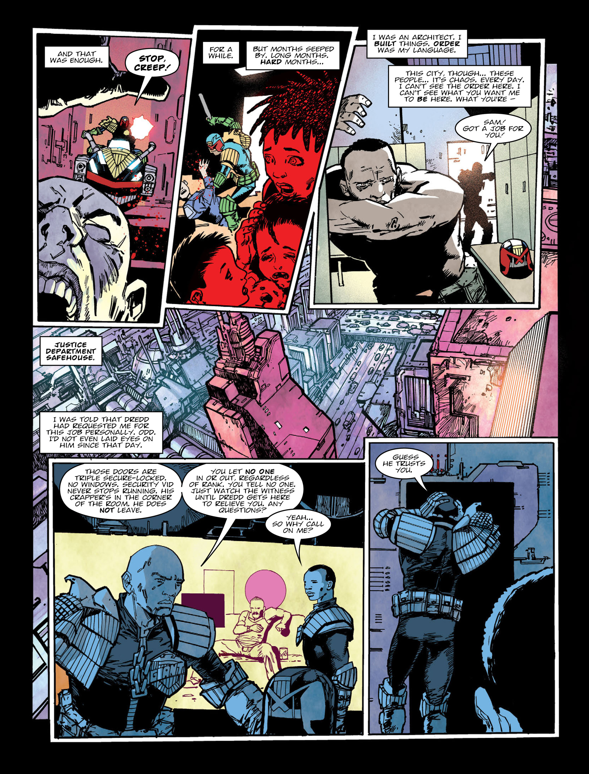 Read online 2000 AD comic -  Issue #2004 - 7