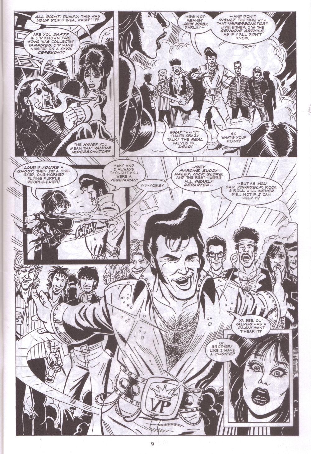 Read online Elvira, Mistress of the Dark comic -  Issue #127 - 11