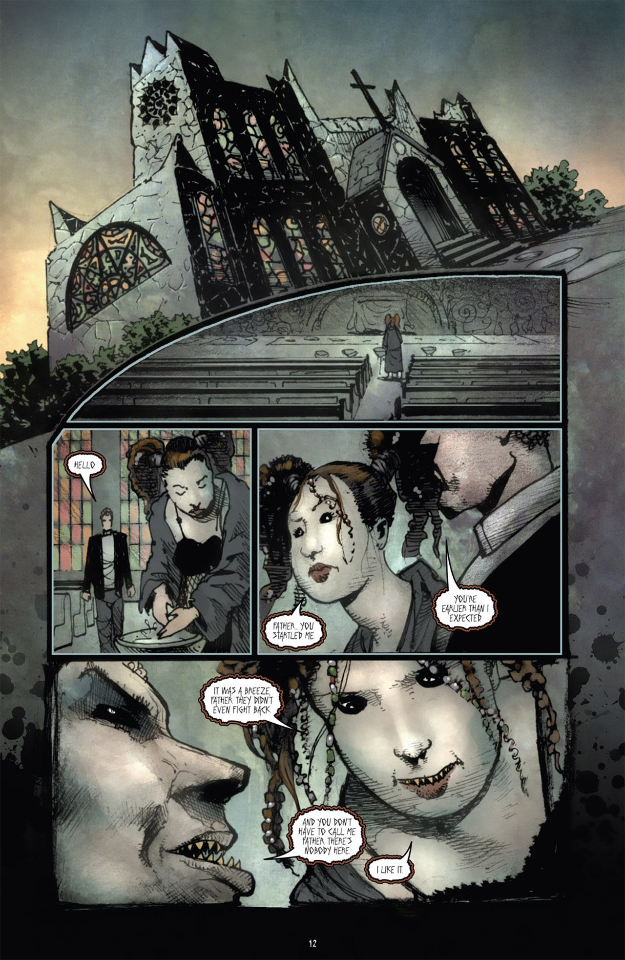 Read online 30 Days of Night (2011) comic -  Issue #1 - 16