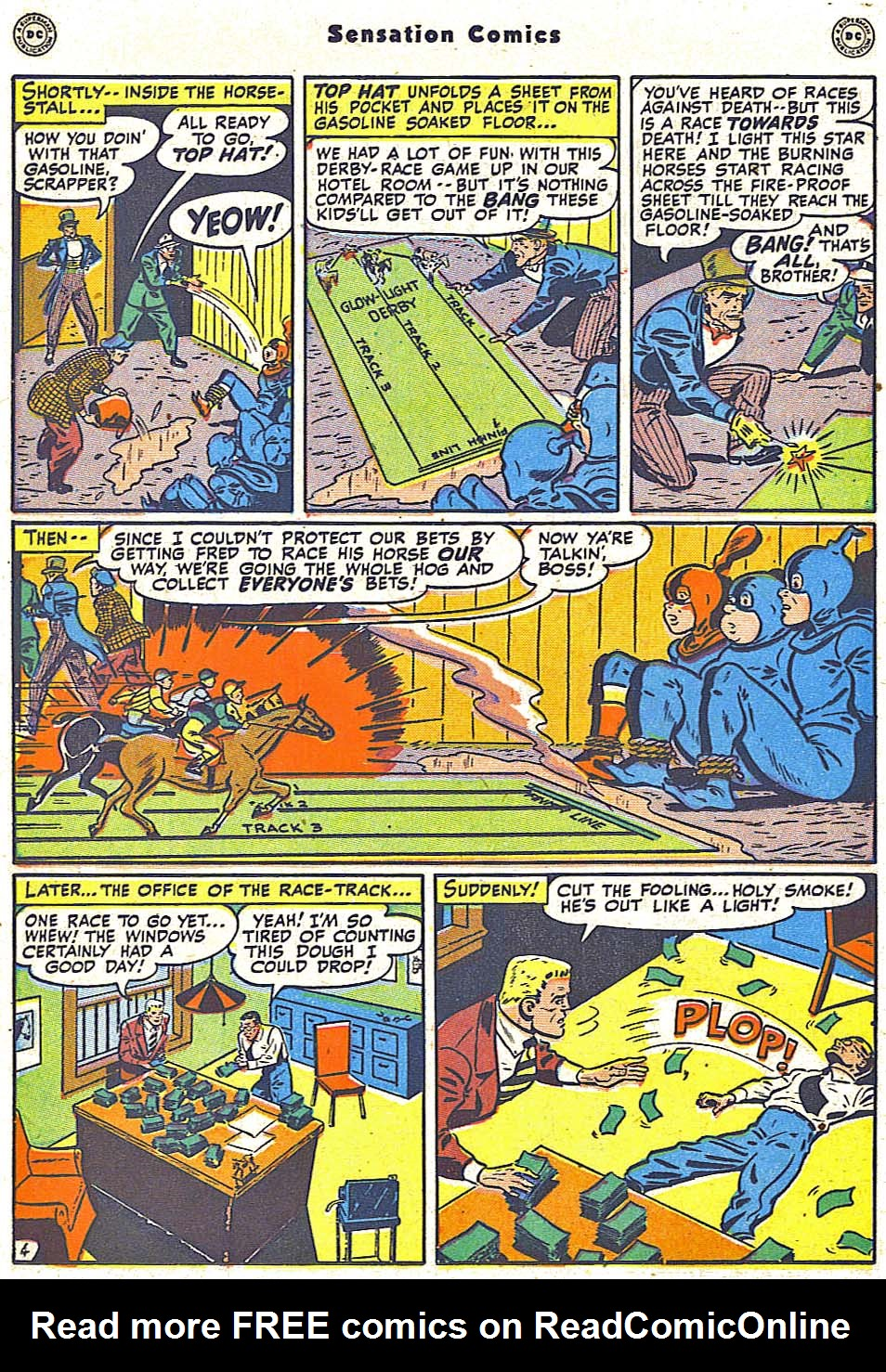 Read online Sensation (Mystery) Comics comic -  Issue #79 - 20