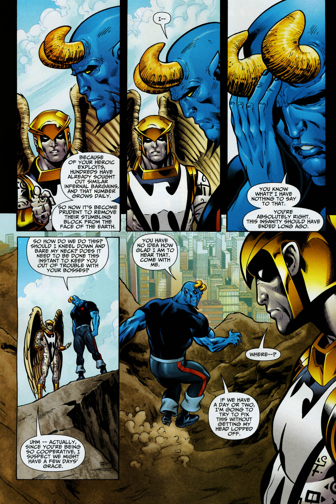 Read online Shadowpact comic -  Issue #14 - 8
