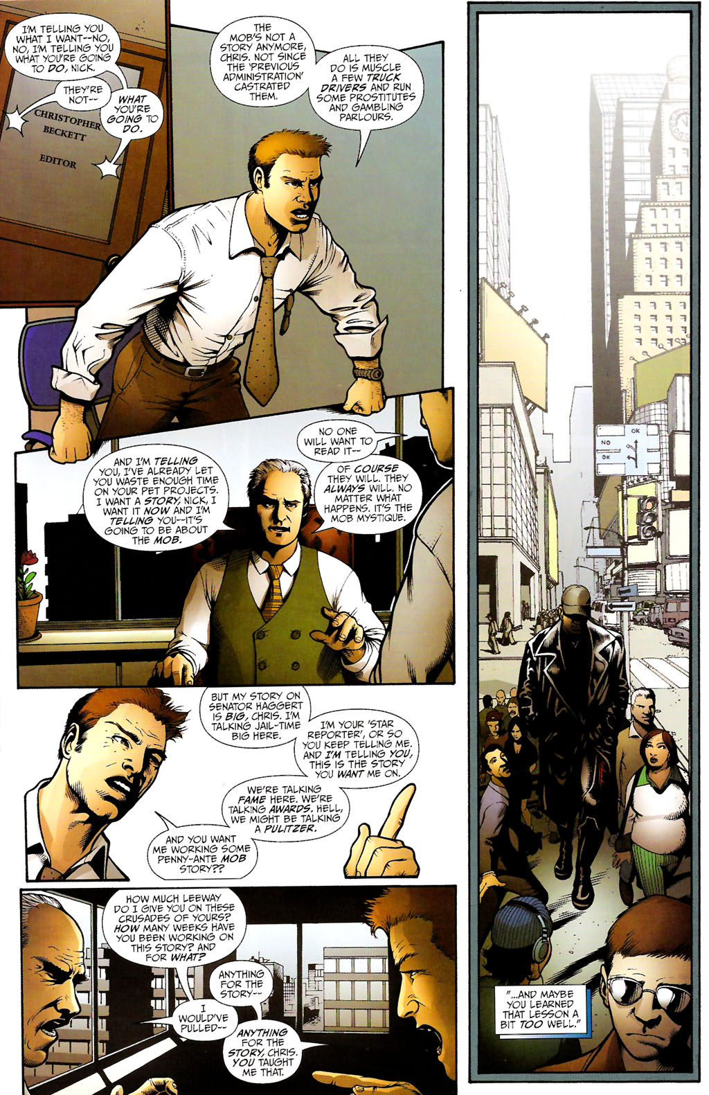 Read online ShadowHawk (2005) comic -  Issue #11 - 28