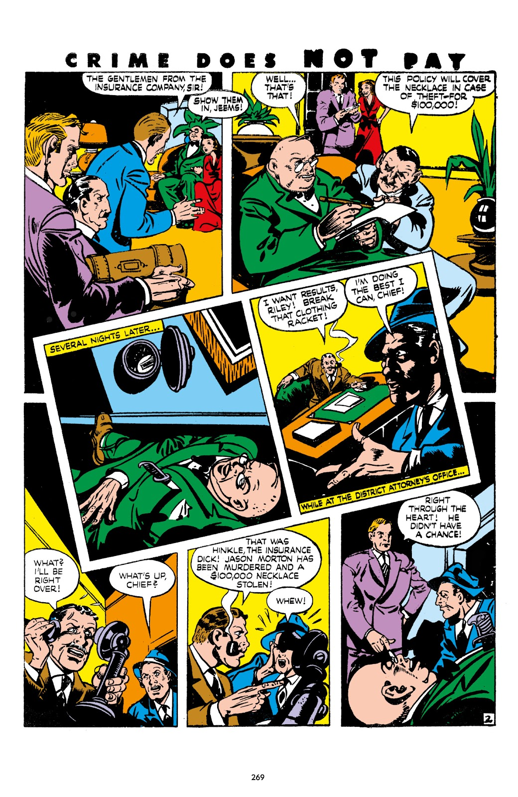 Read online Crime Does Not Pay Archives comic -  Issue # TPB 7 (Part 3) - 70