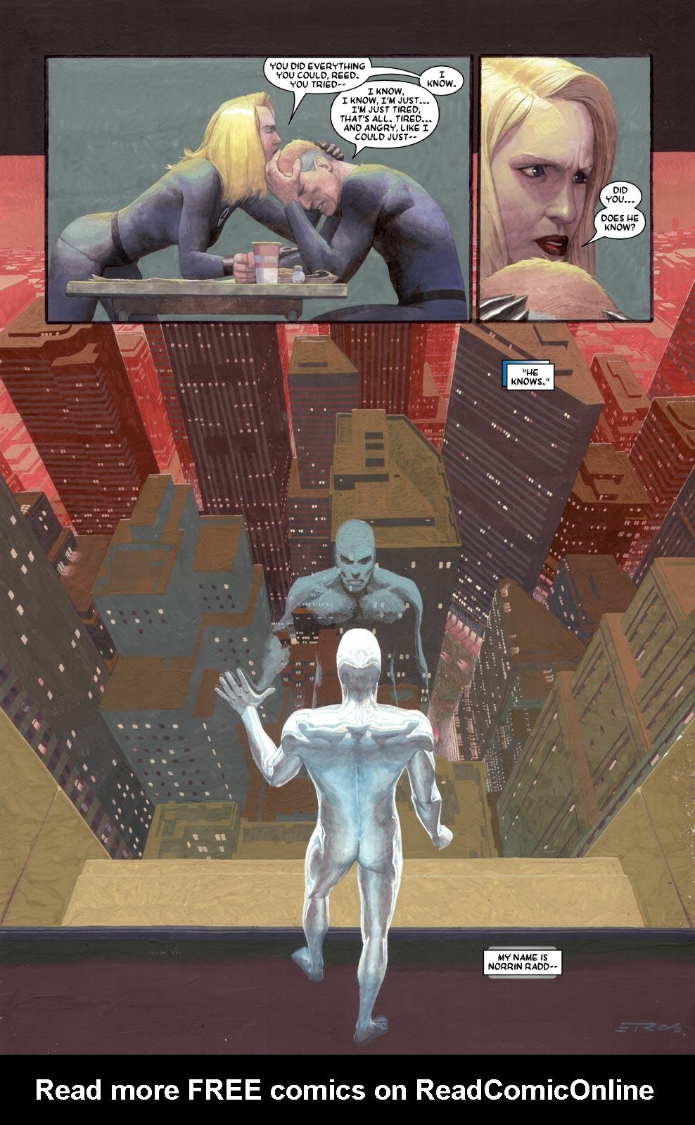 Read online Silver Surfer: Requiem comic -  Issue #1 - 12