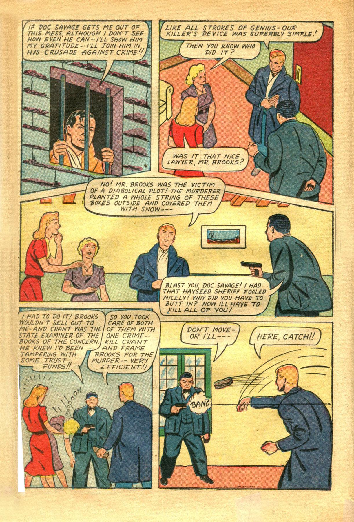 Read online Shadow Comics comic -  Issue #48 - 22