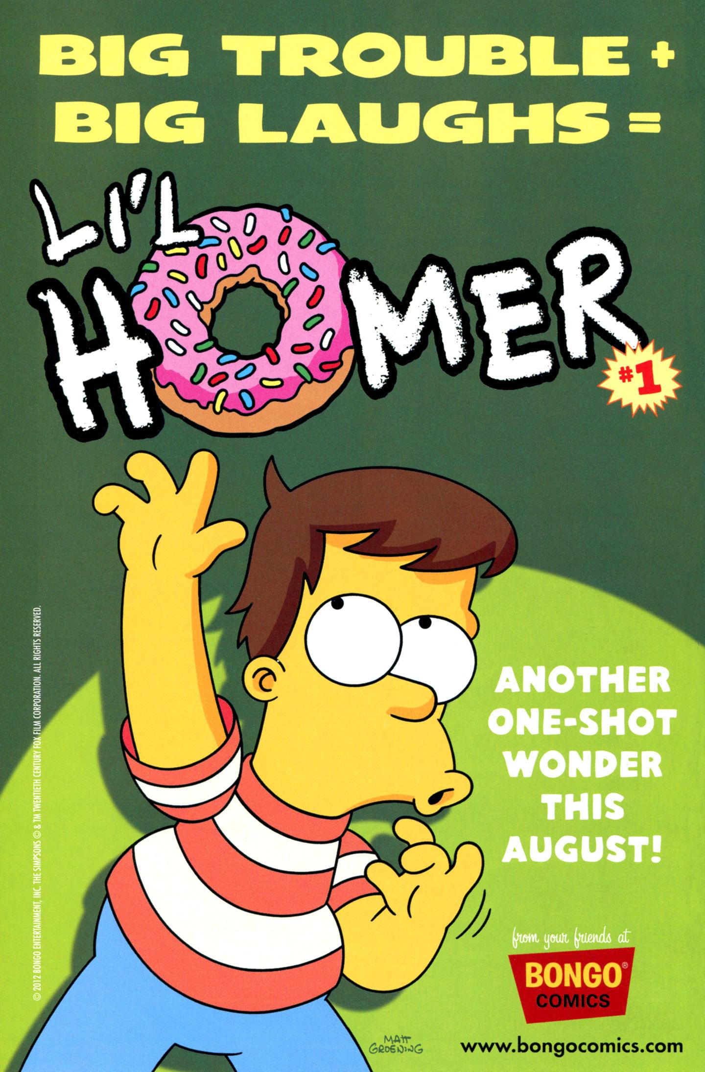 Read online Simpsons Comics Presents Bart Simpson comic -  Issue #72 - 32