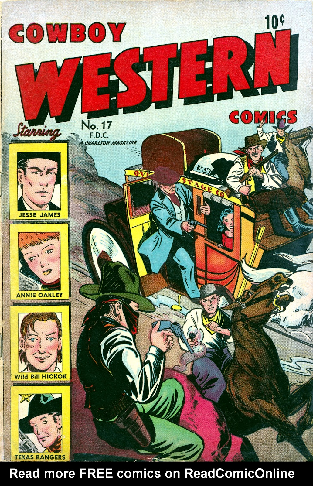 Cowboy Western Comics (1948) issue 17 - Page 1