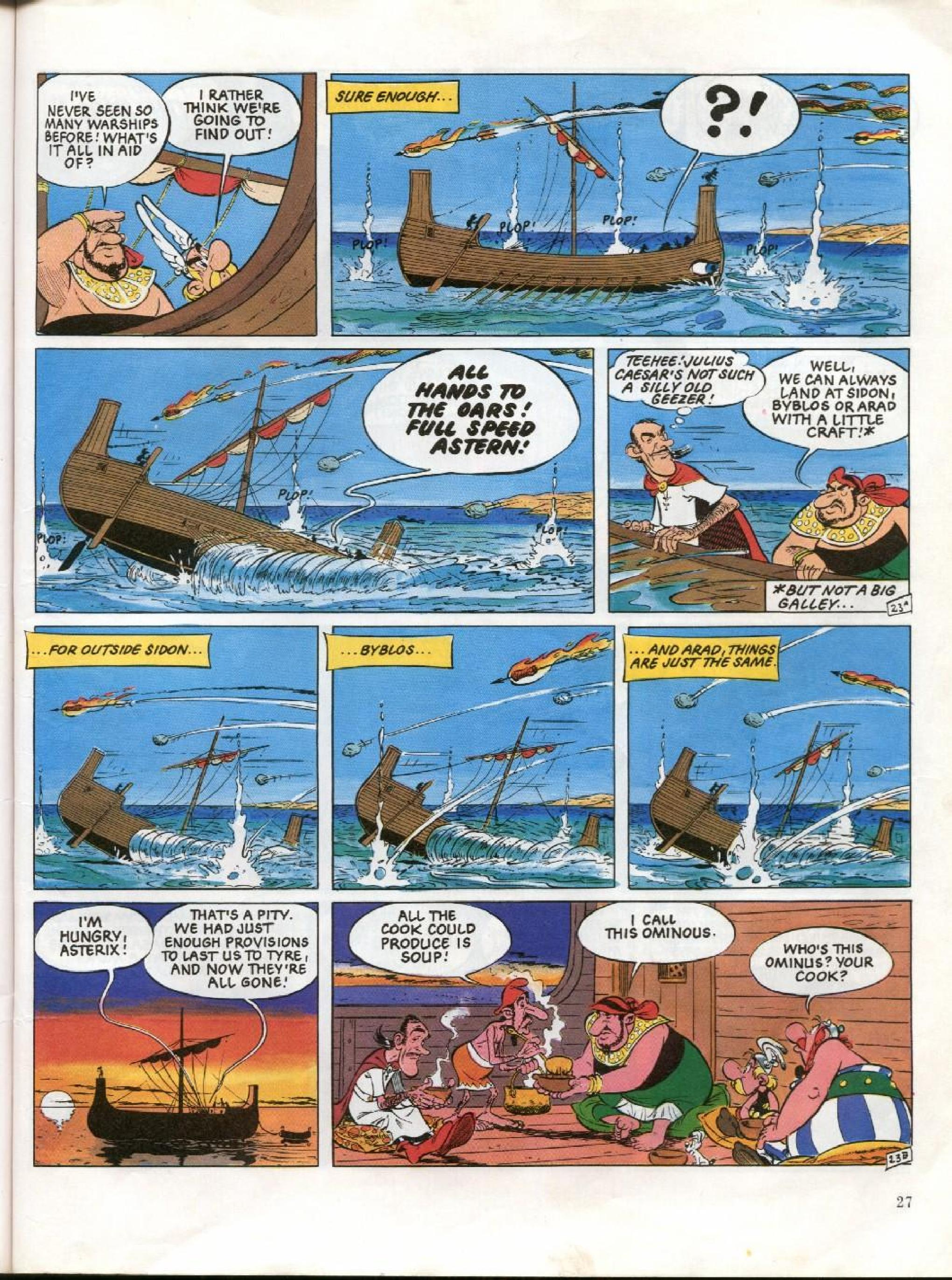 Read online Asterix comic -  Issue #26 - 24