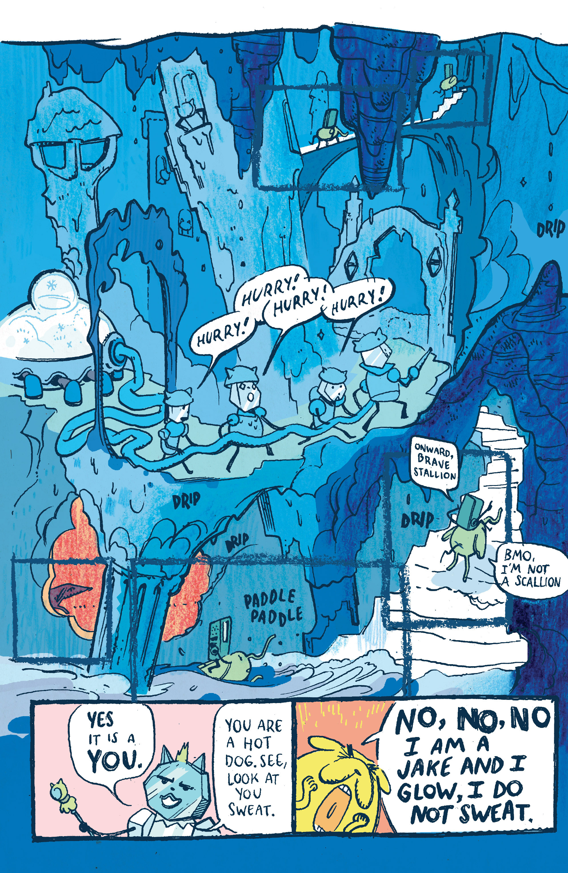Read online Adventure Time 2014 Winter Special comic -  Issue #Adventure Time 2014 Winter Special Full - 15