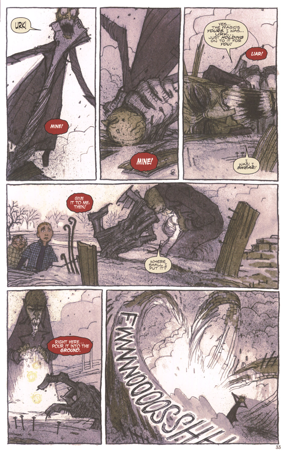 Read online Clive Barker's The Thief Of Always comic -  Issue #3 - 34