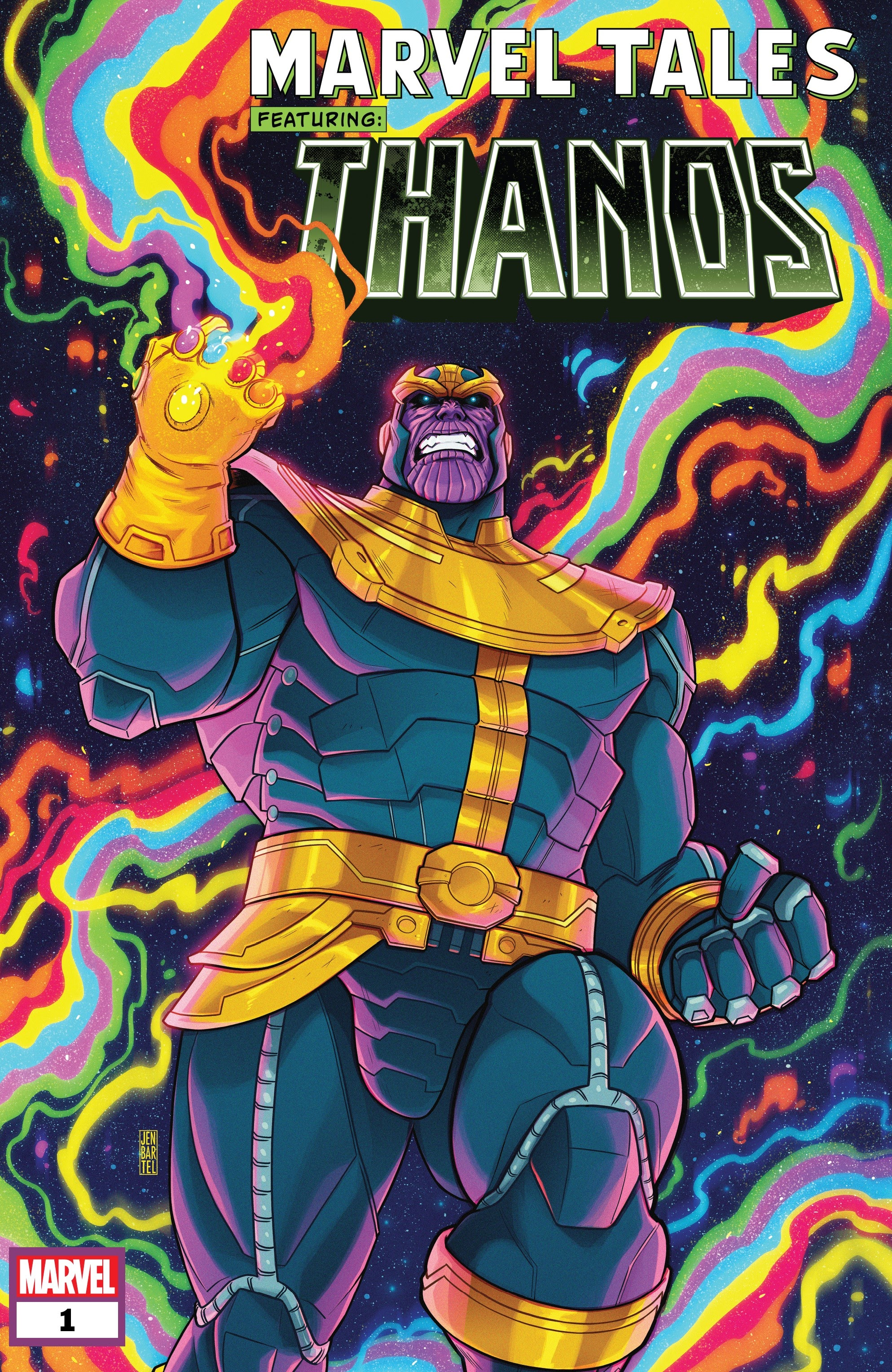 Marvel Tales: Thanos Full Page 1