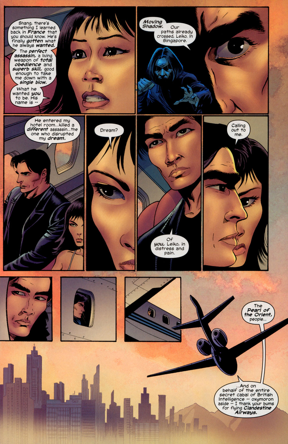 Read online Shang-Chi: Master of Kung Fu comic -  Issue #4 - 5