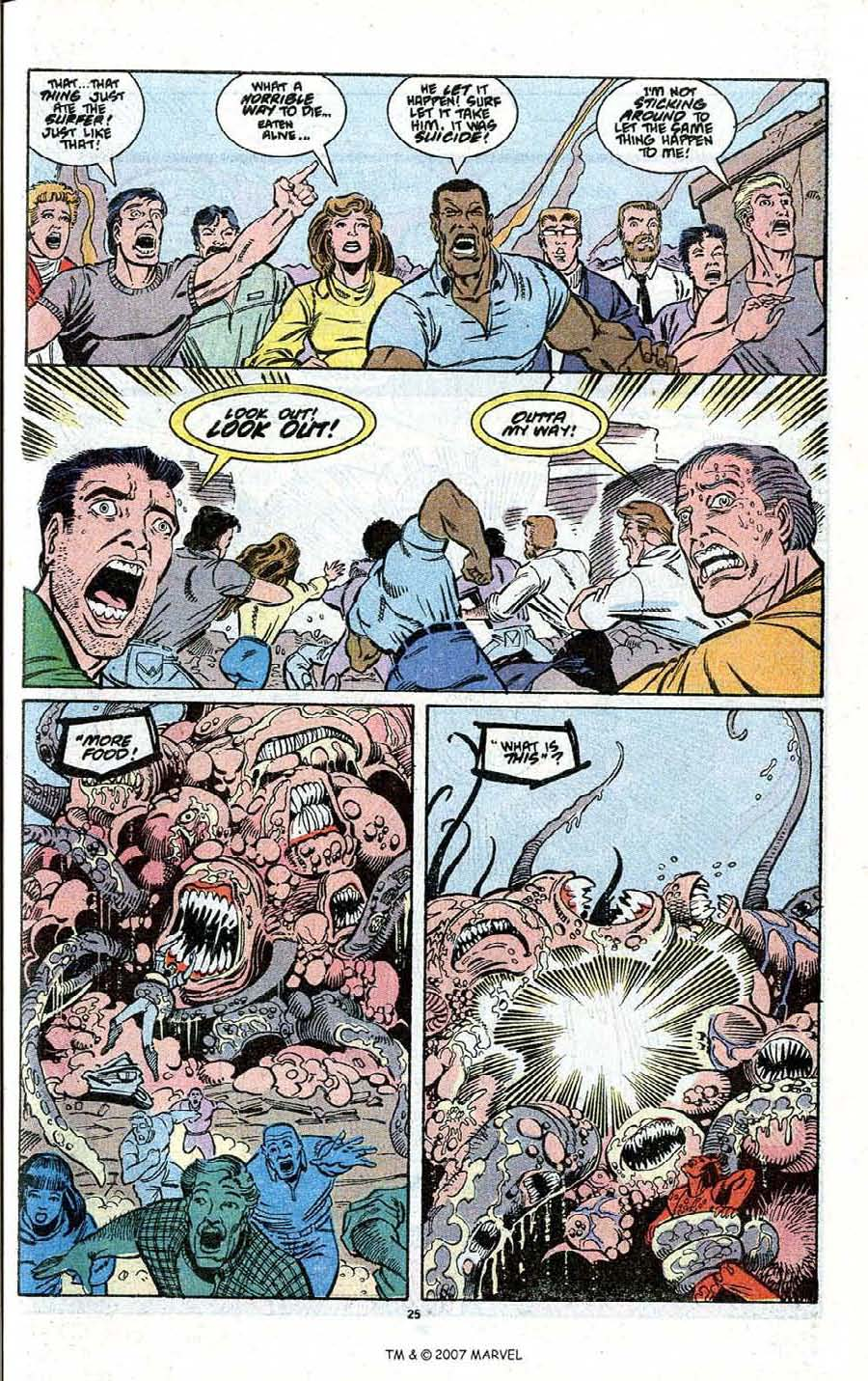Read online Silver Surfer (1987) comic -  Issue # _Annual 3 - 27