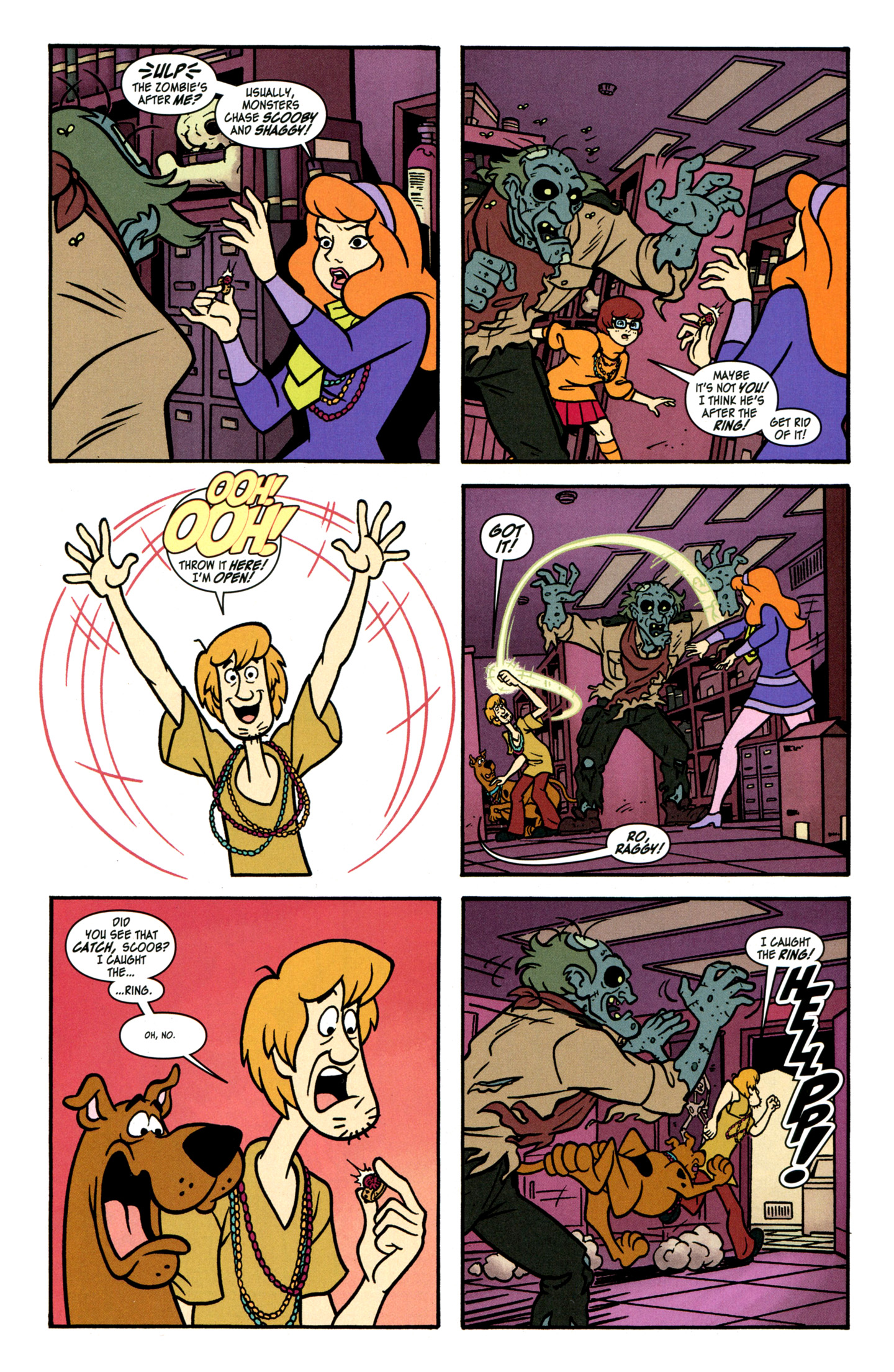 Read online Scooby-Doo: Where Are You? comic -  Issue #30 - 10