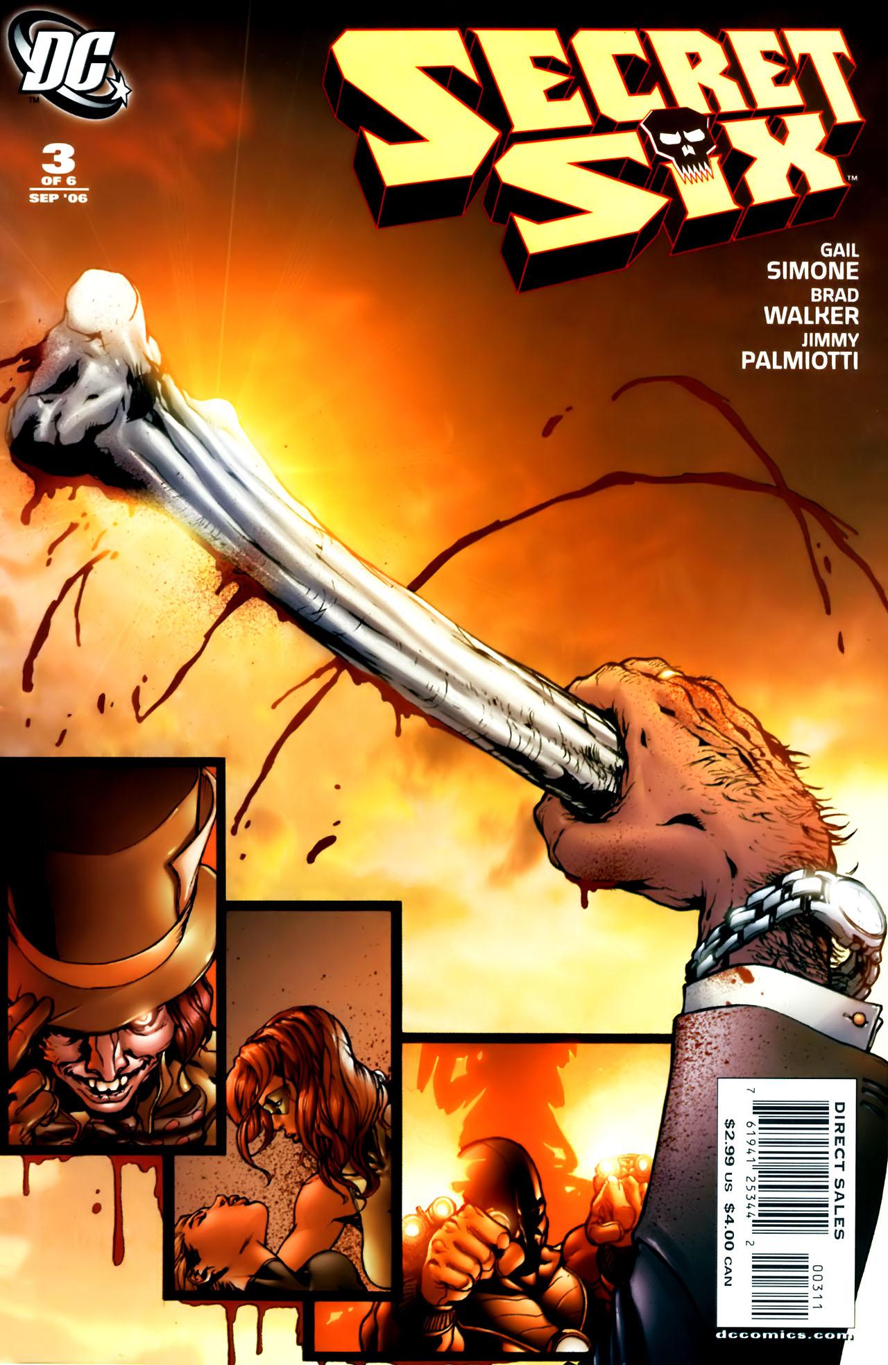 Read online Secret Six (2006) comic -  Issue #3 - 1