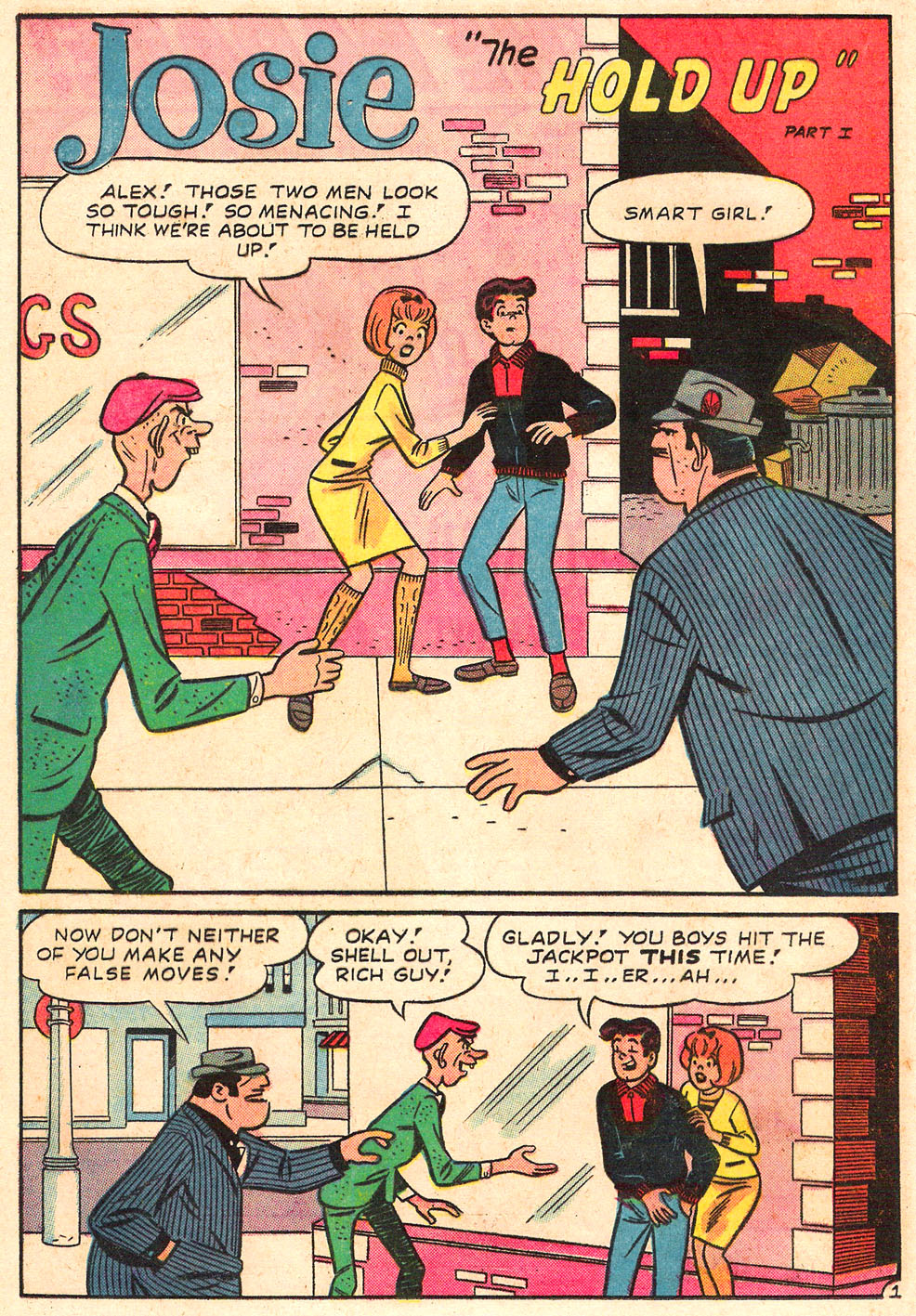 Read online She's Josie comic -  Issue #19 - 20