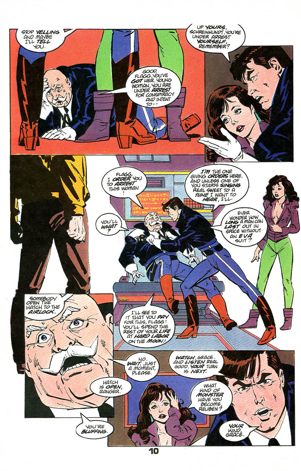 Read online American Flagg! comic -  Issue #49 - 12