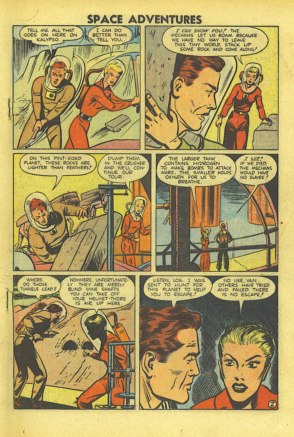 Space Adventures (1952) issue 4 - Page 16