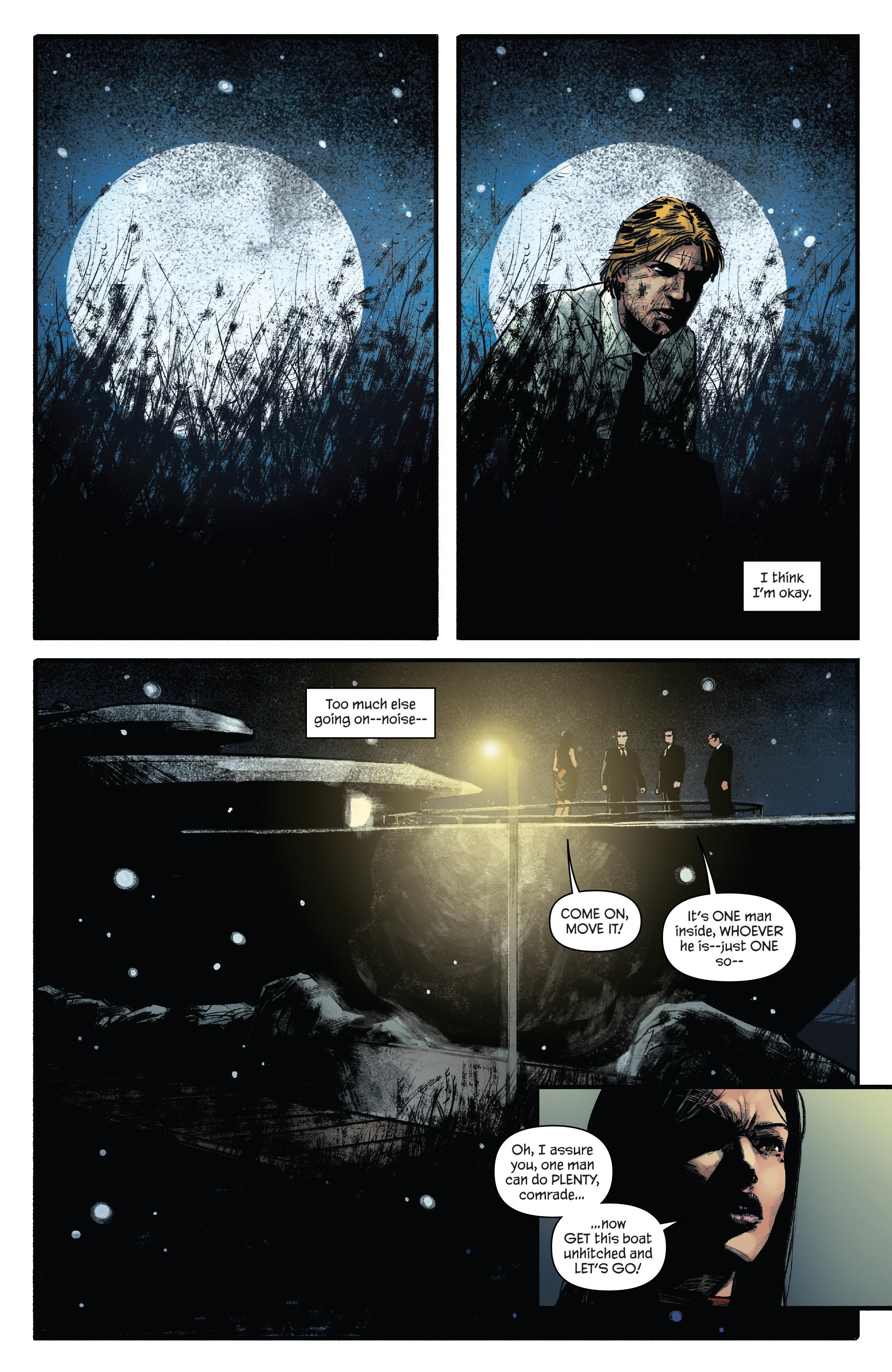 Read online James Bond: Felix Leiter comic -  Issue #5 - 13