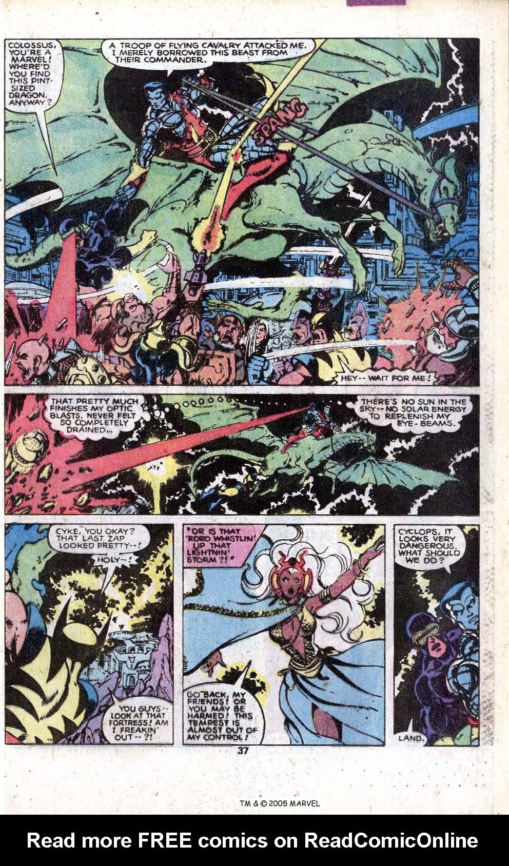 Read online Uncanny X-Men (1963) comic -  Issue # _Annual 3 - 39