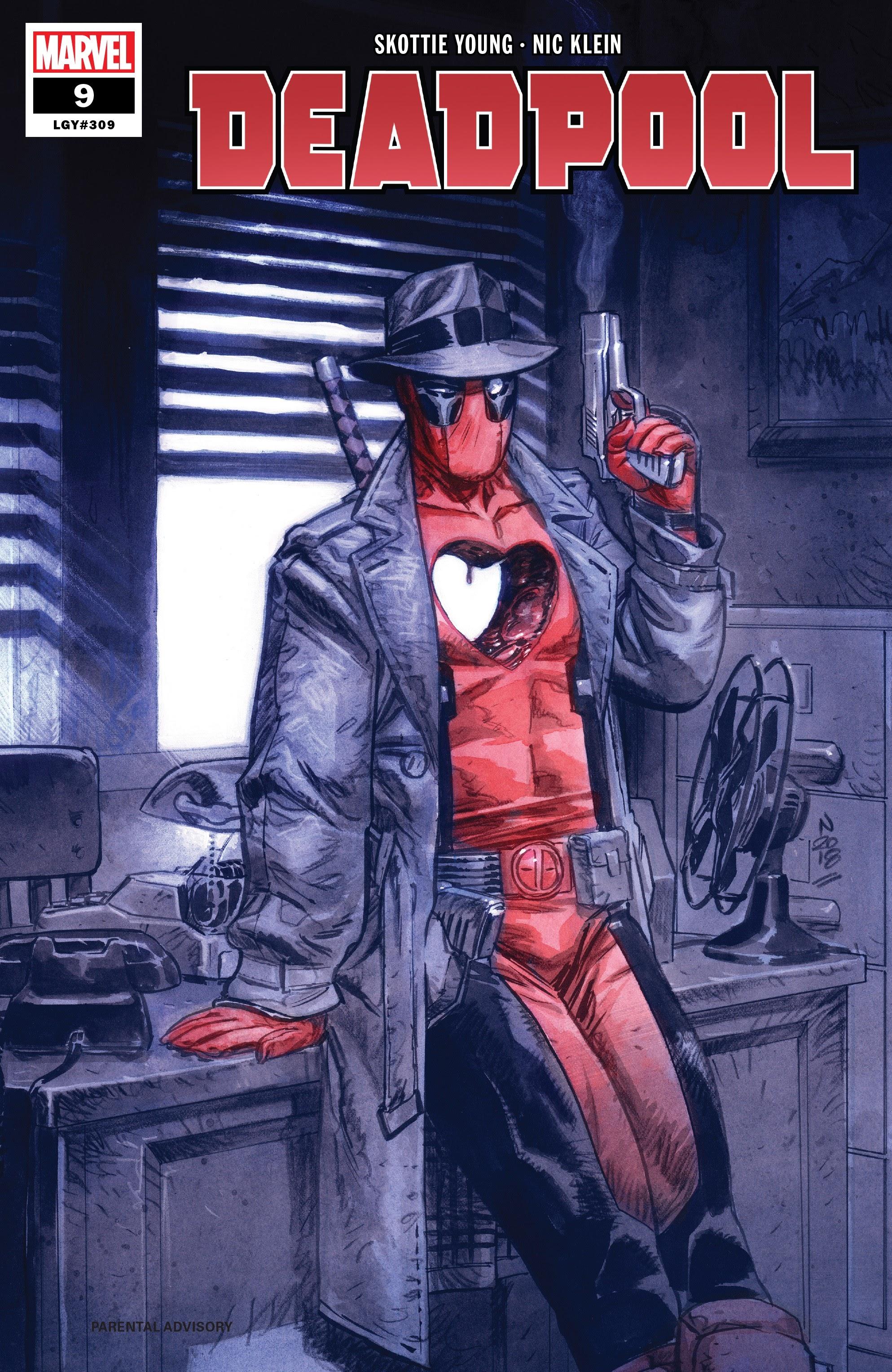 Deadpool (2018) 9 Page 1